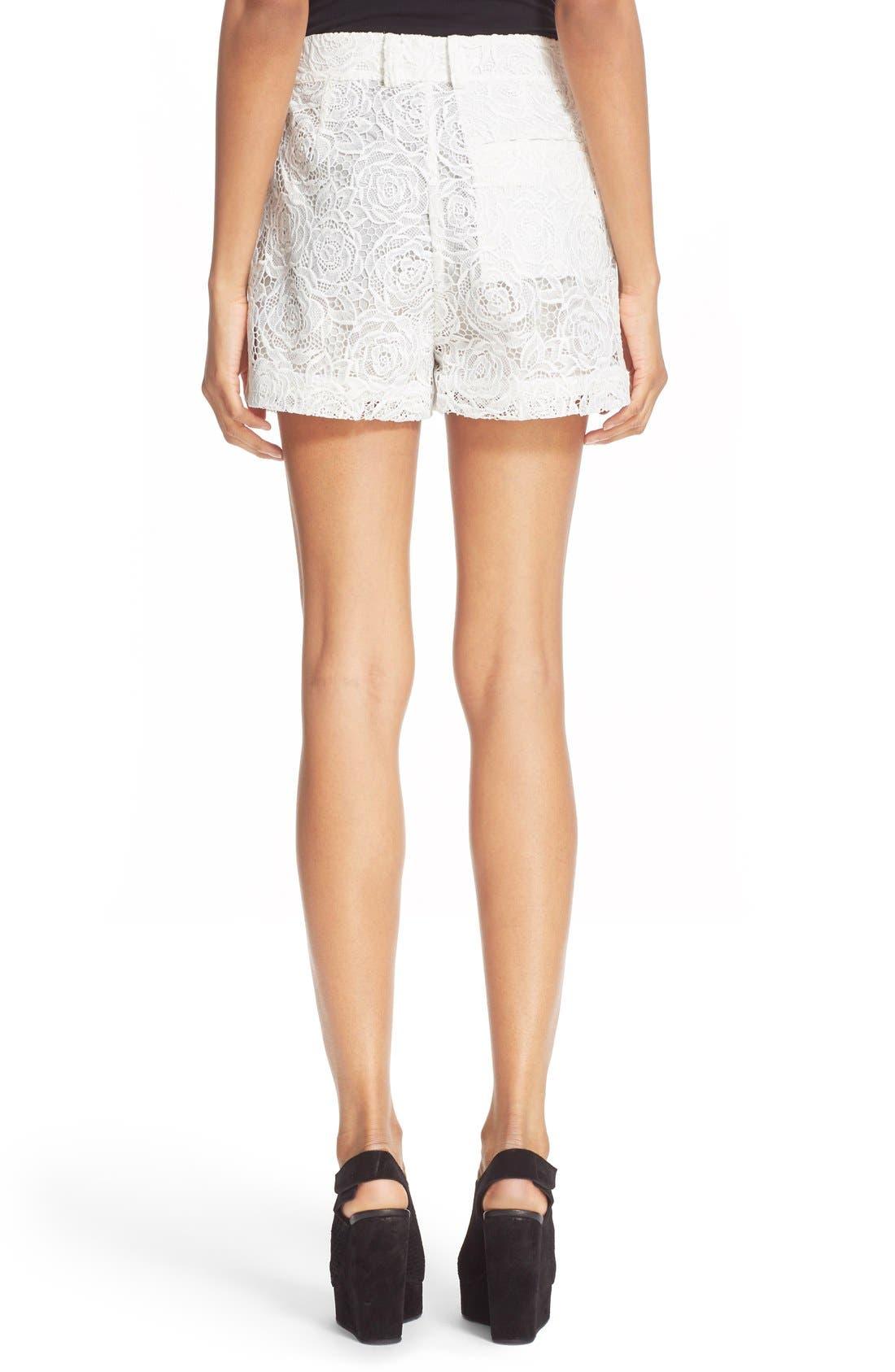 Alternate Image 2  - McQ Alexander McQueen Lace Shorts