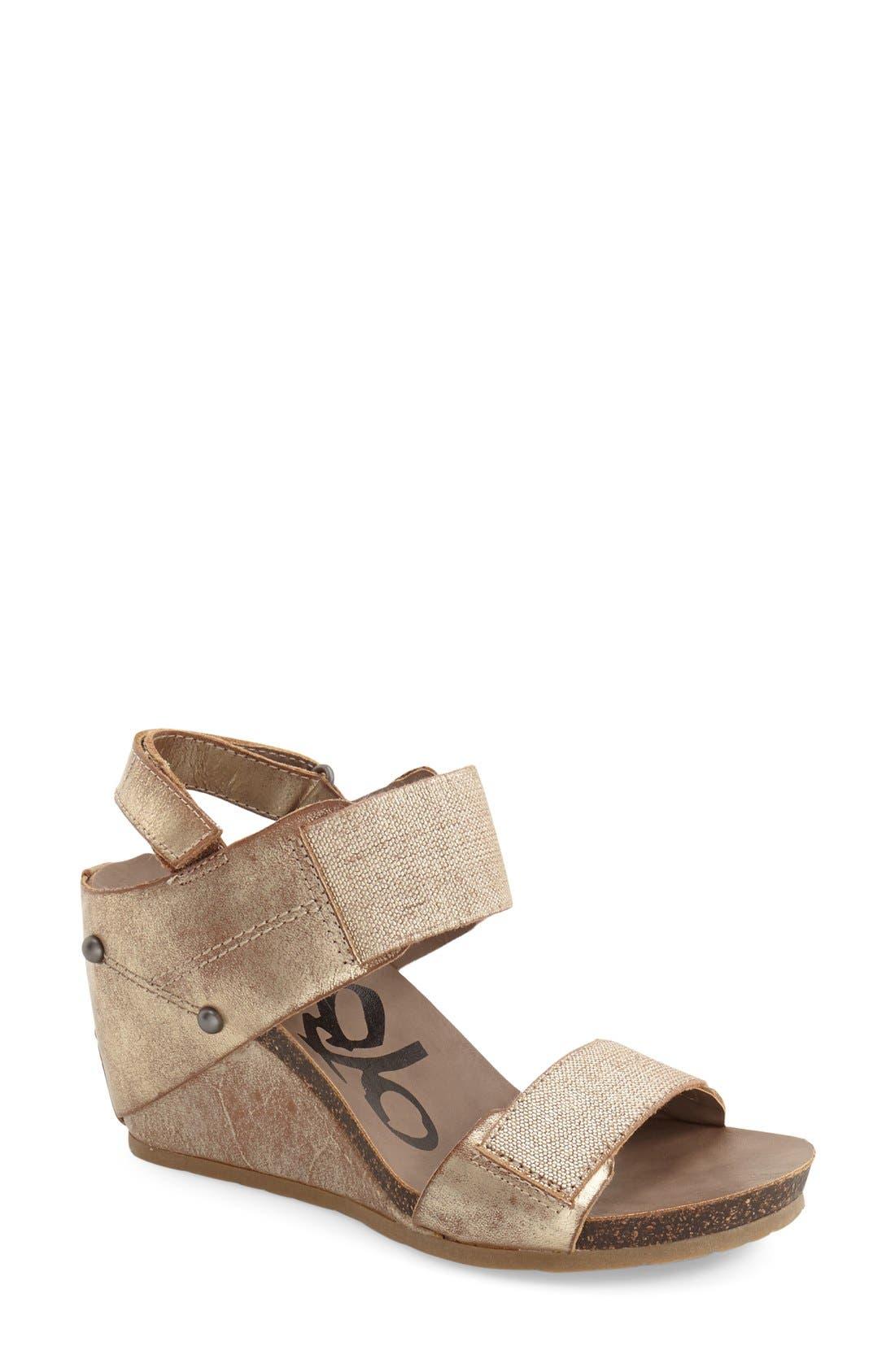 Alternate Image 1 Selected - OTBT 'Trailblazer' Wedge Sandal (Women)
