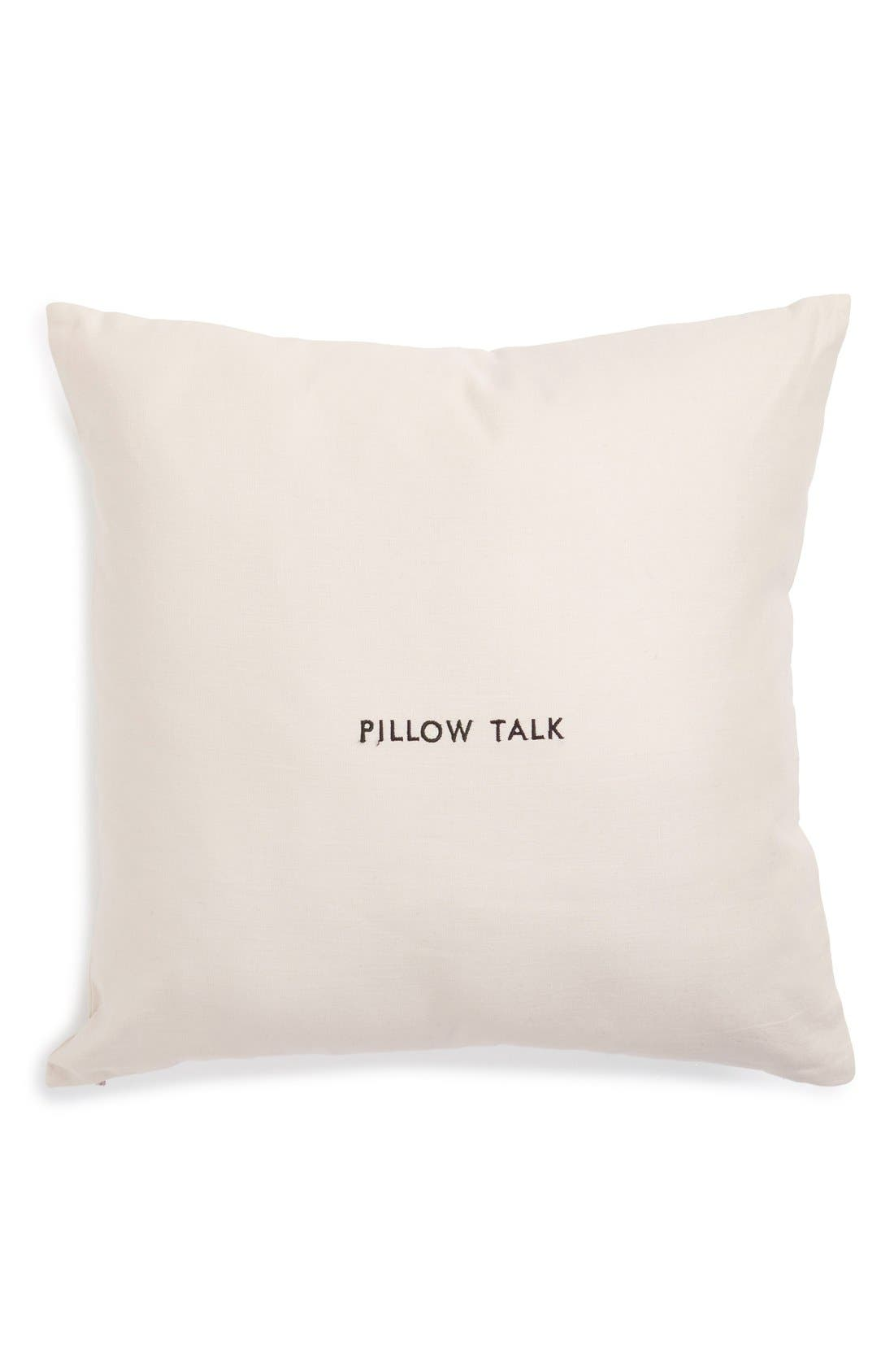kate spade new york 'words of wisdom' accent pillow