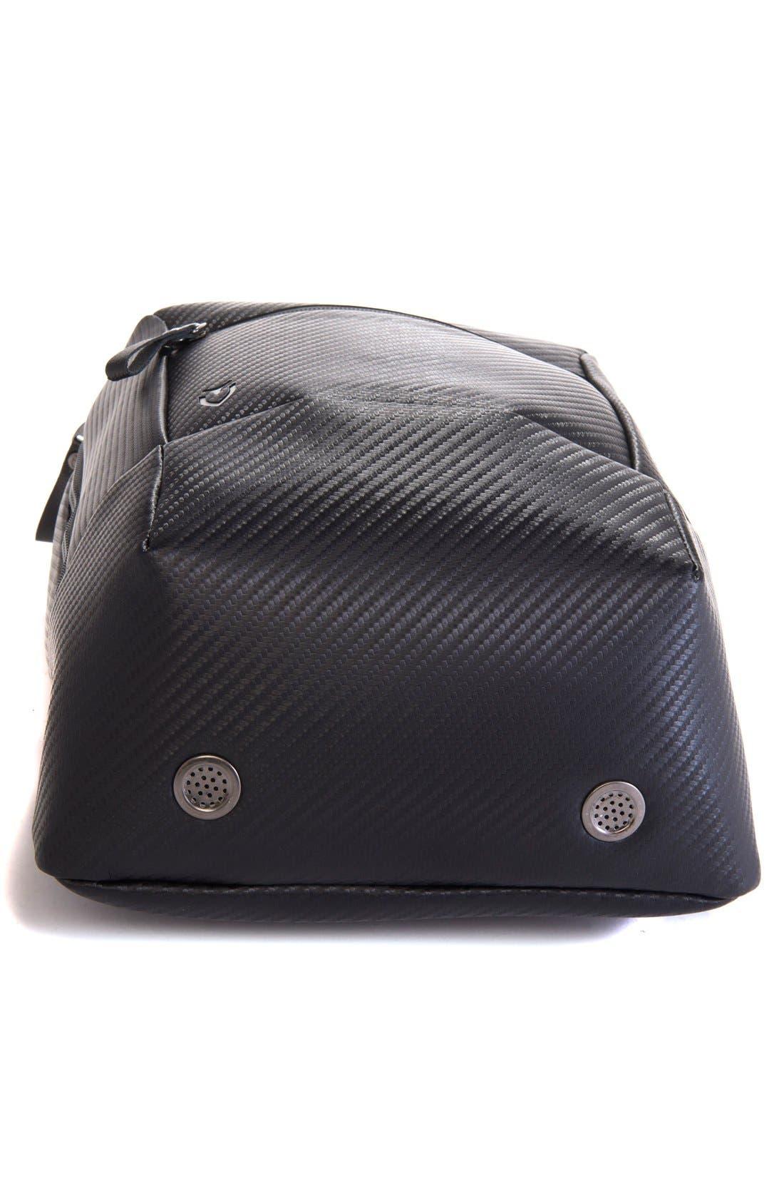 Alternate Image 5  - Vessel Pebbled Faux Leather Shoe Bag