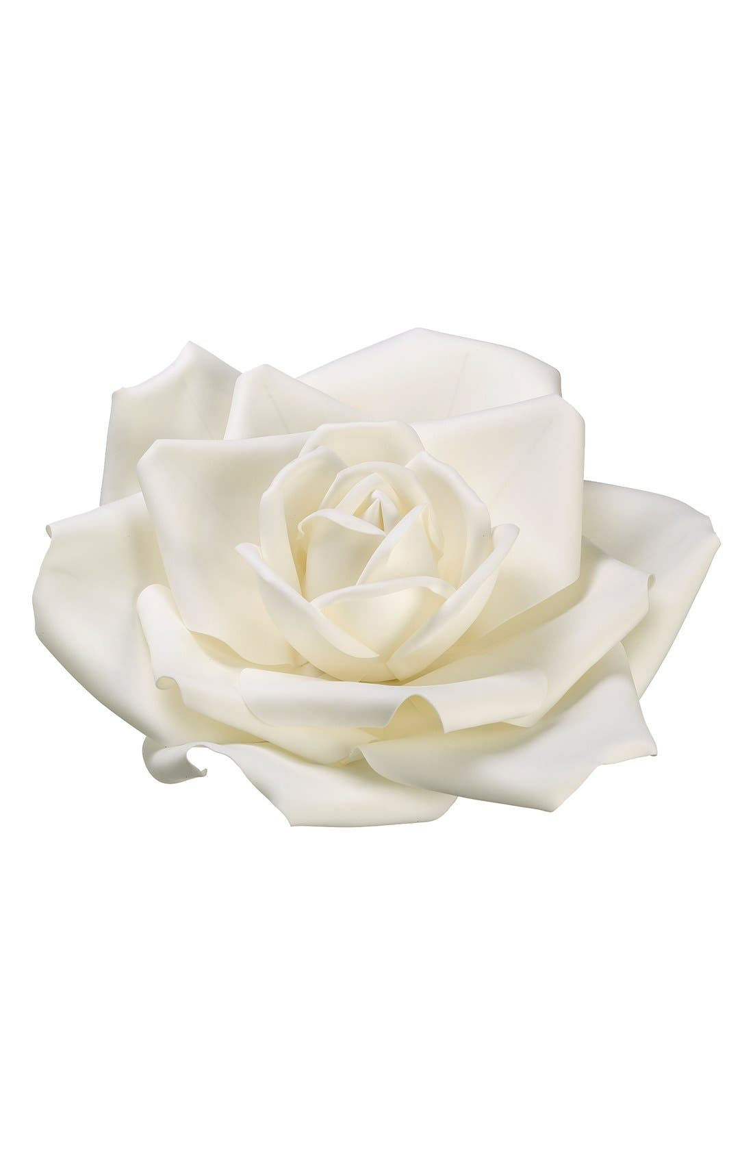 Artificial Hanging Rose,                         Main,                         color, White