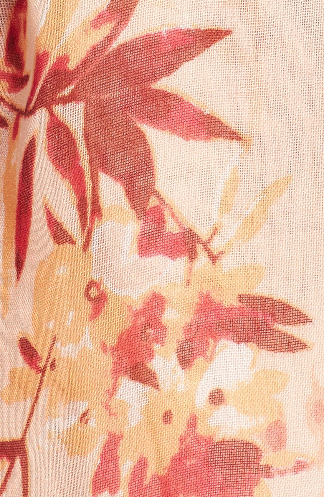 Alternate Image 3  - Nordstrom 'Blurred Blossoms' Scarf