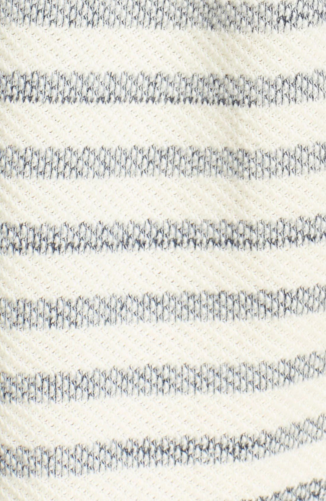 Alternate Image 5  - Free People 'Long Island' Stripe Hooded Cardigan