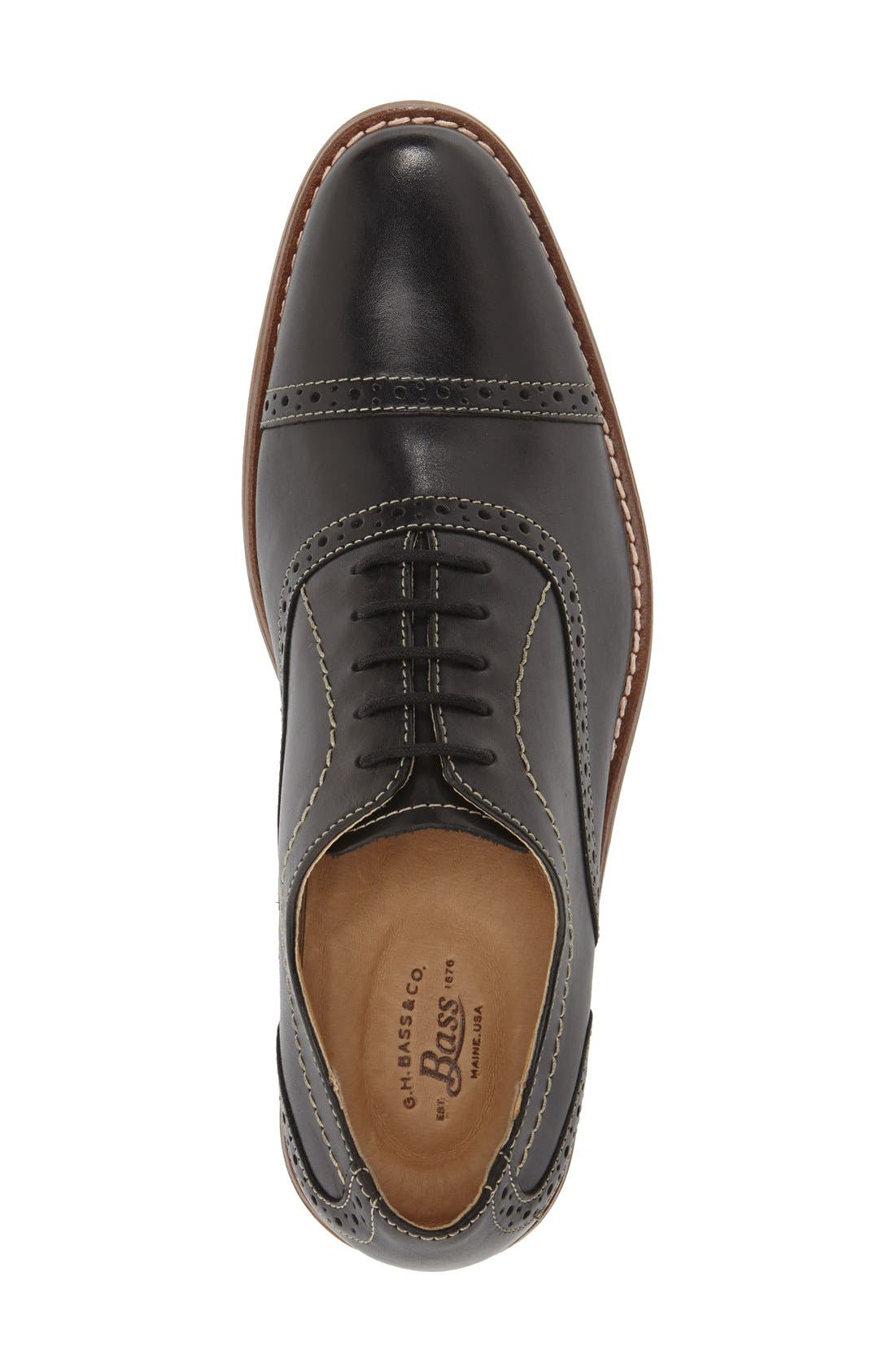 Alternate Image 3  - G.H. Bass & Co. 'Carnell' Cap Toe Oxford (Men)