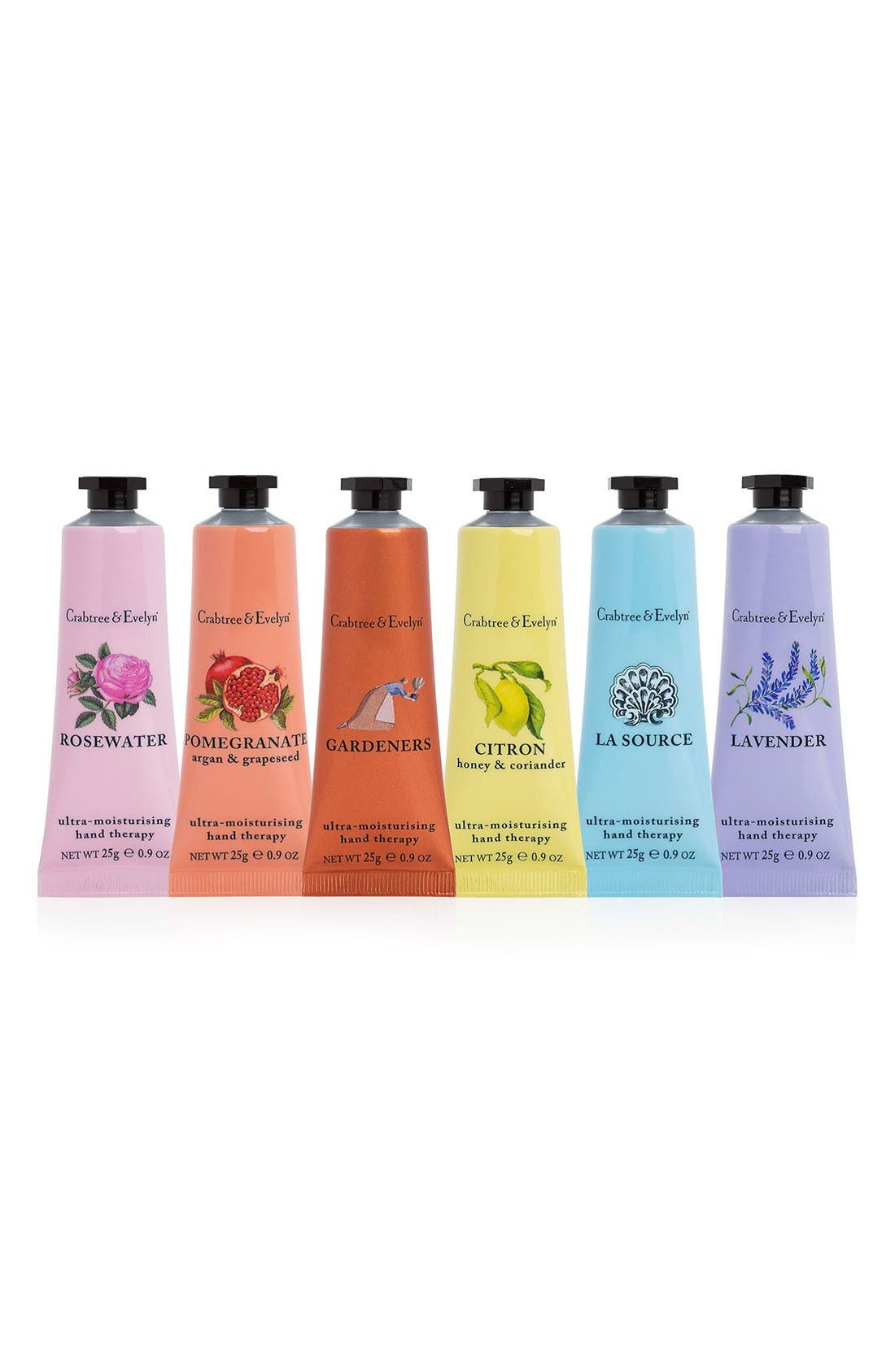 Crabtree & Evelyn 'Favorites' Hand Therapy Sampler Set