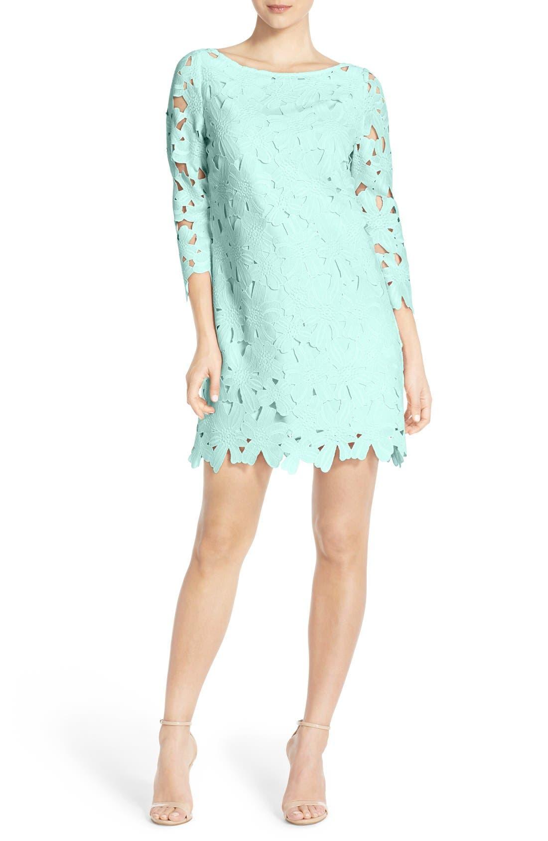 Felicity U0026 Coco Belza Floral Lace Shift Dress (Nordstrom Exclusive)