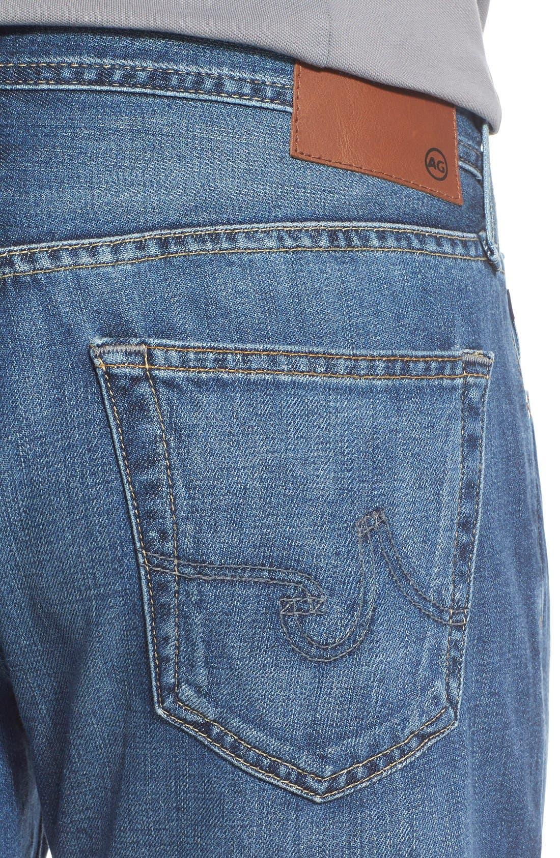 Alternate Image 5  - AG 'Protégé' Straight Leg Jeans (Tate)