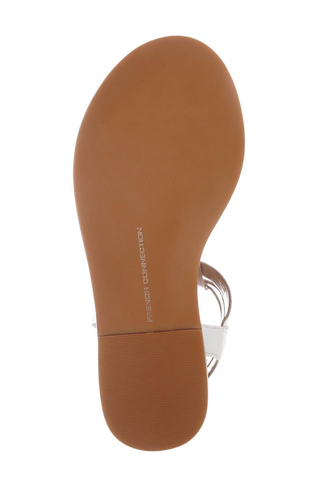 Alternate Image 4  - French Connection 'Imanna' Flat Gladiator Sandal (Women)
