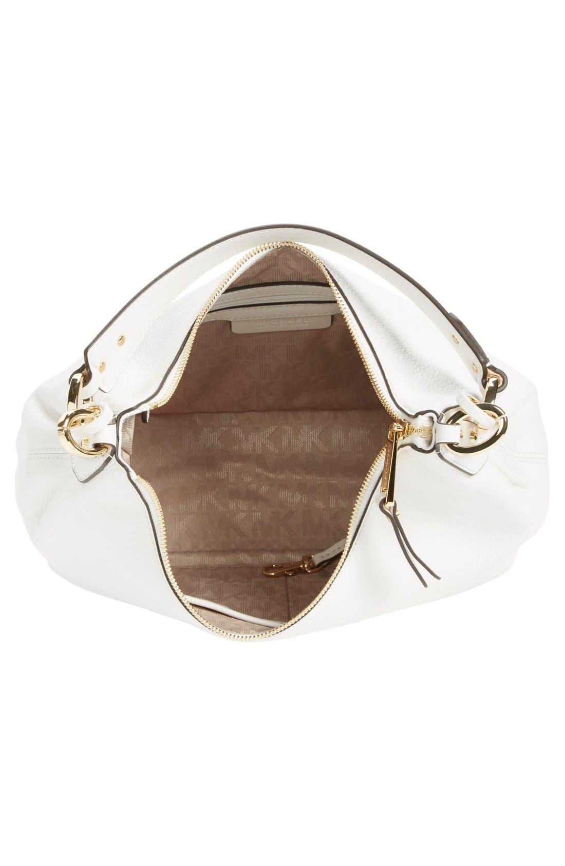 Alternate Image 4  - MICHAEL Michael Kors 'Medium Isabella' Convertible Leather Shoulder Bag