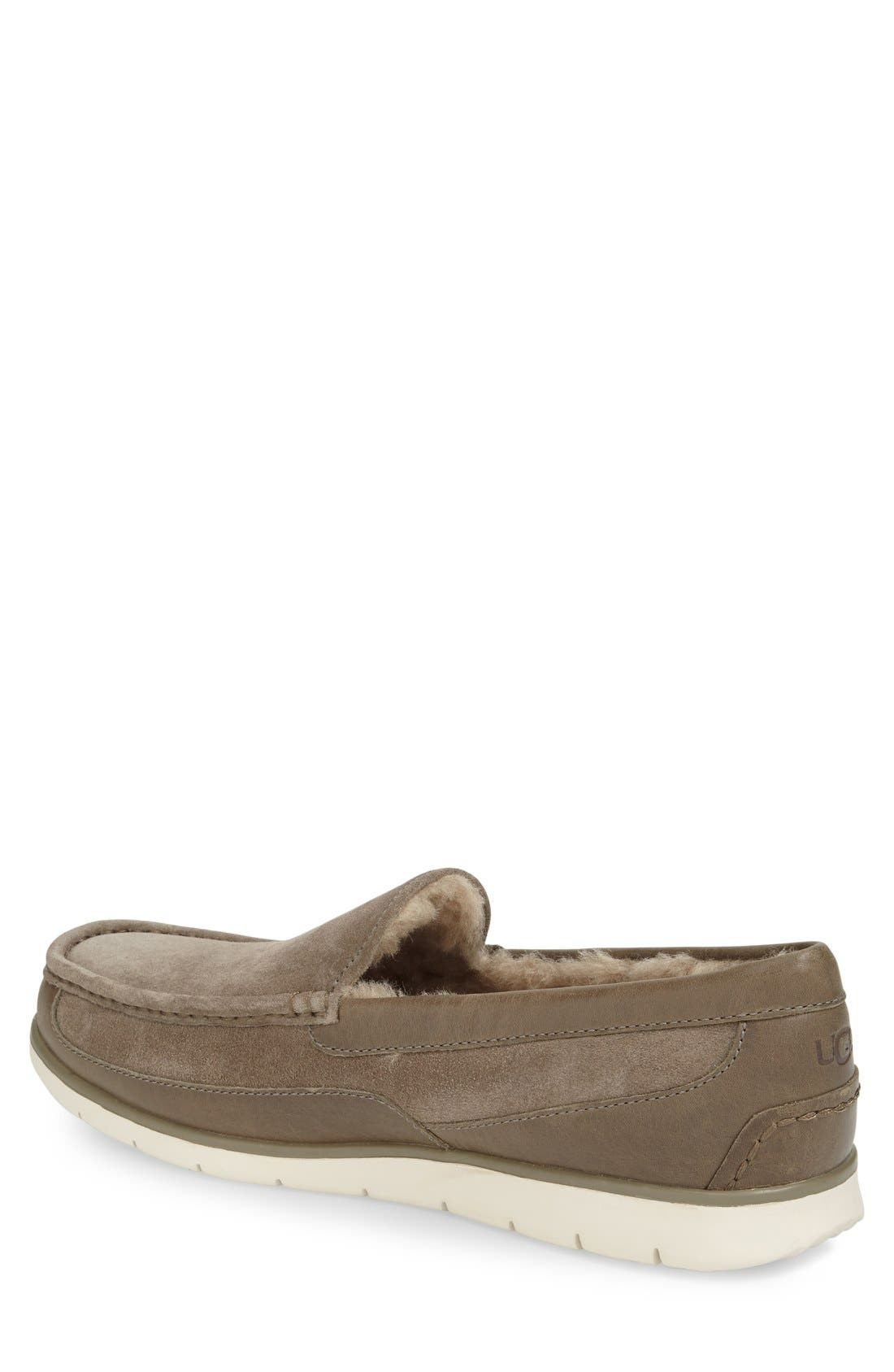 Alternate Image 2  - UGG® Fascot Driving Shoe (Men)
