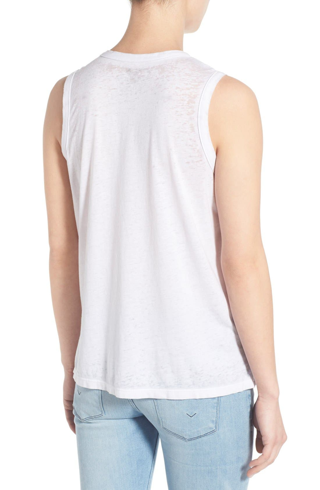 Alternate Image 2  - Chaser 'Moon Chart' Graphic Muscle Tank
