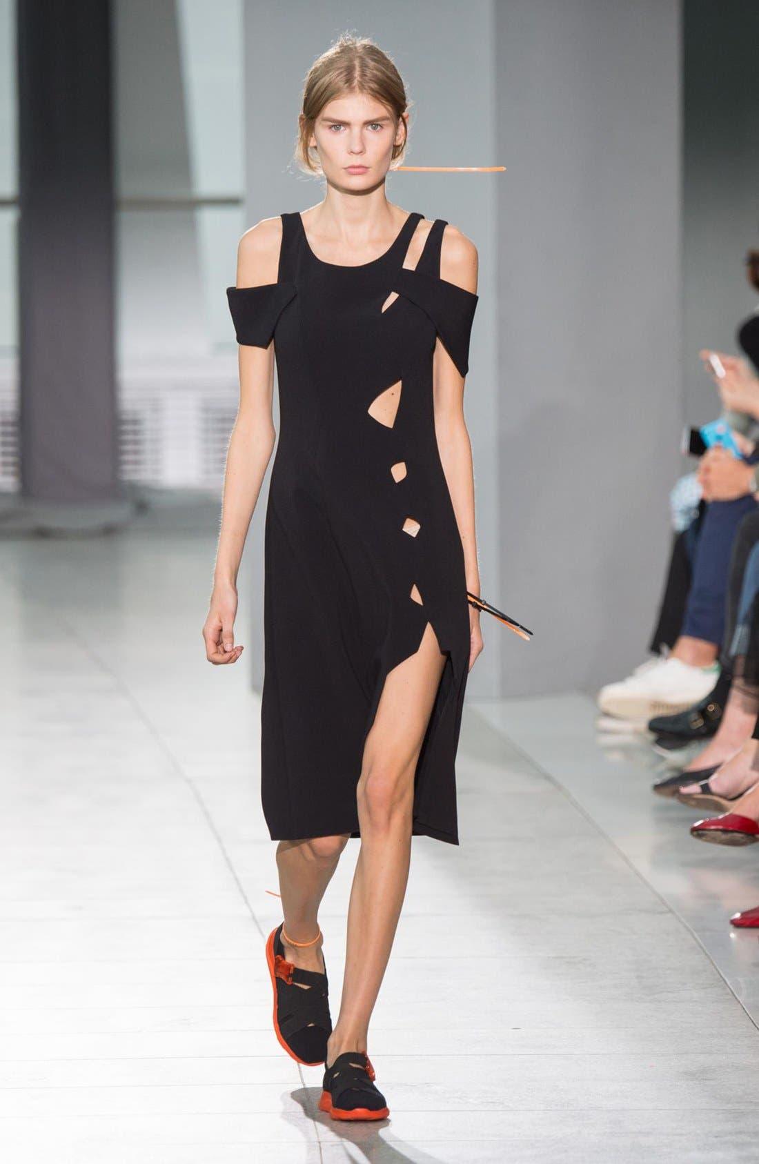 Alternate Image 2  - Christopher Kane Cold Shoulder Dress