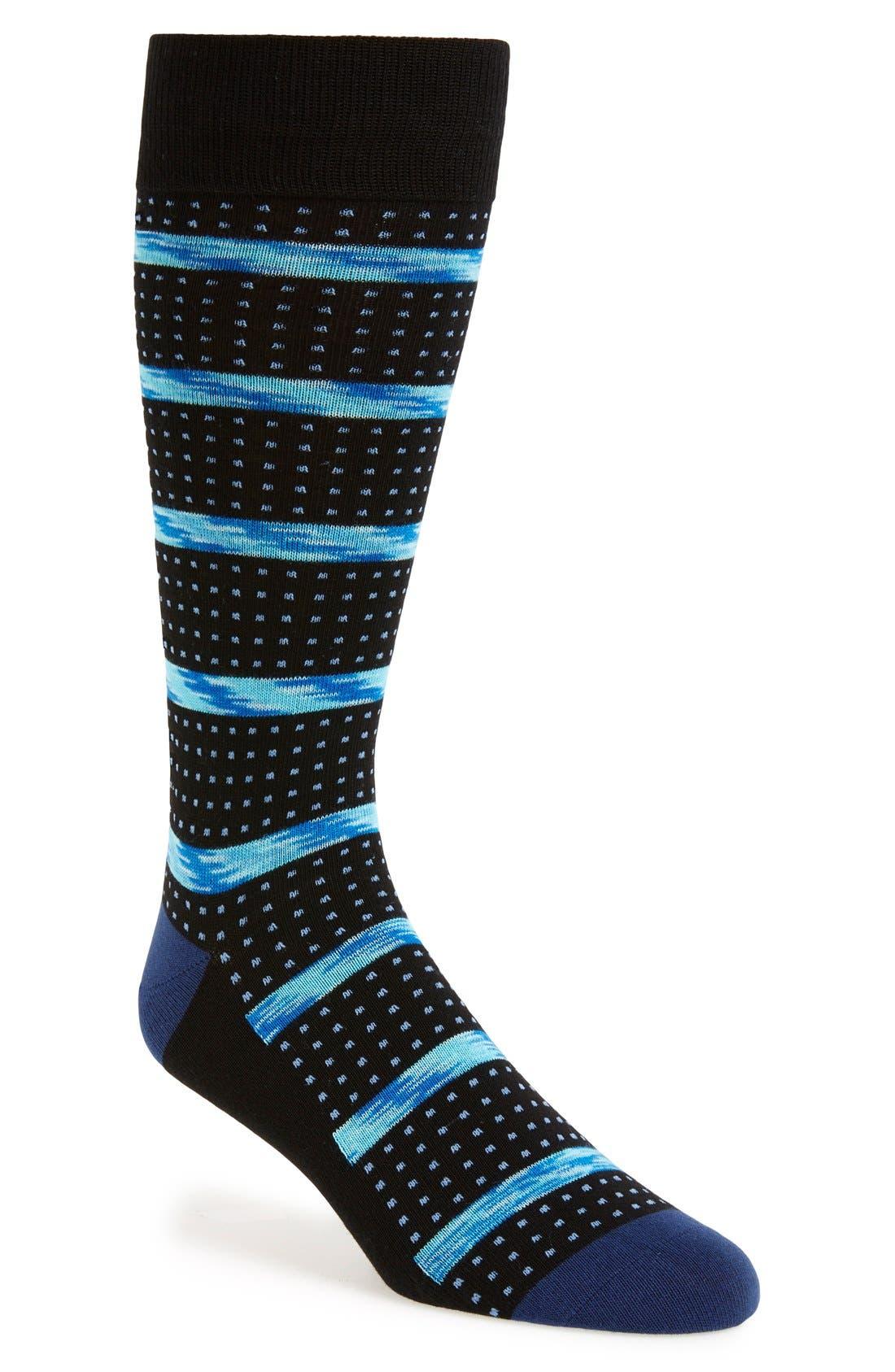 Calibrate Stripe & Dot Socks