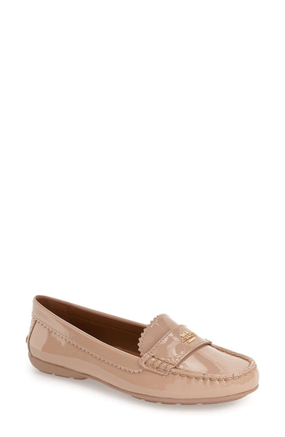 Main Image - COACH 'Odette' Moccasin Loafer (Women)