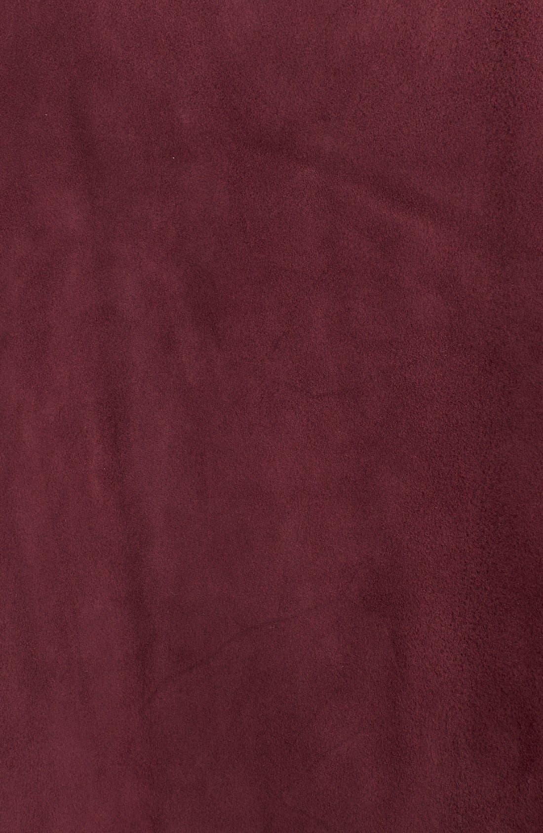 Alternate Image 5  - kate spade new york belted suede a-line skirt