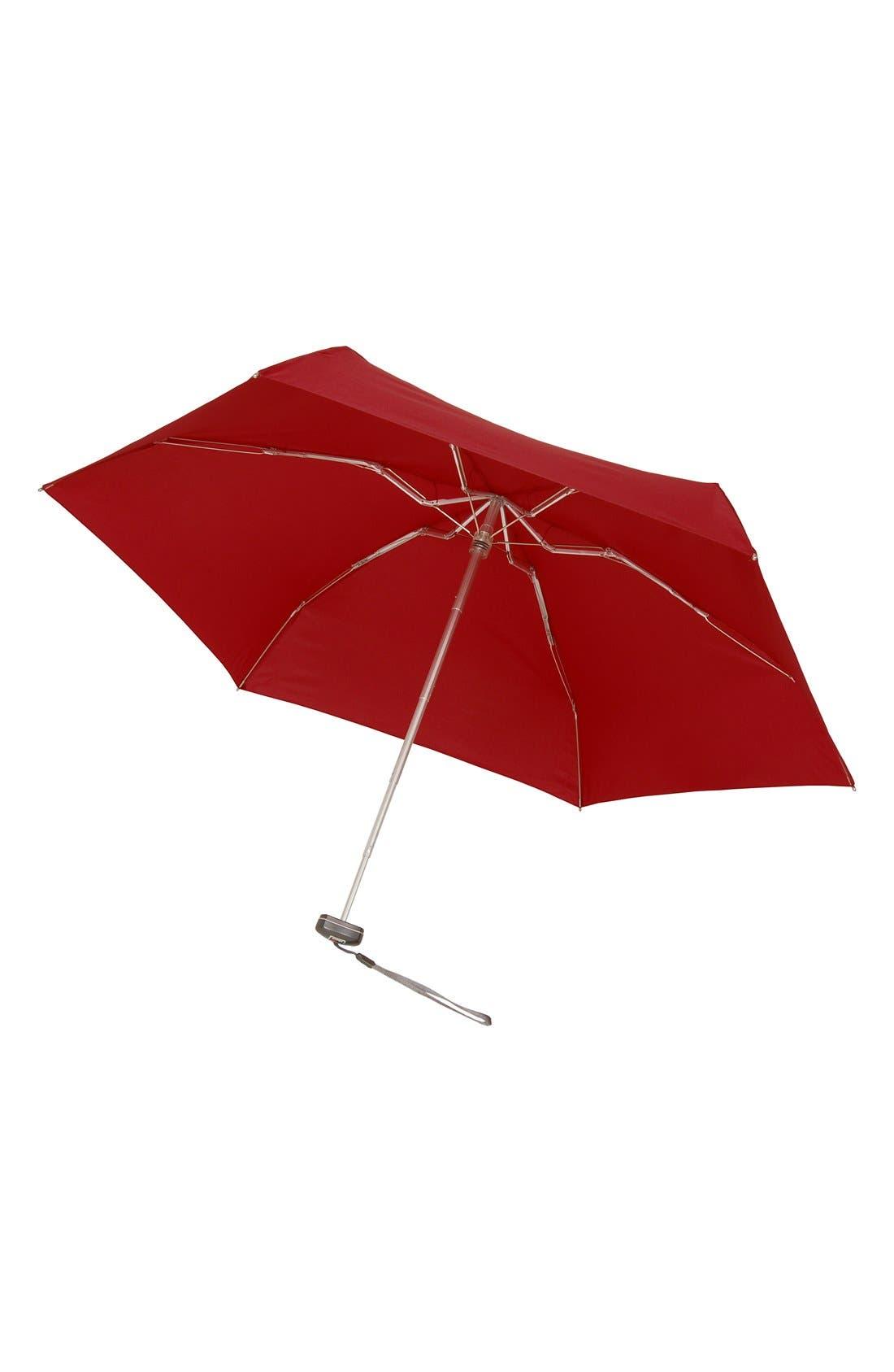 Travel Umbrella,                         Main,                         color, Red