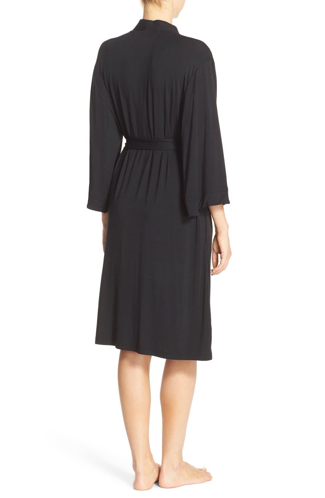 Alternate Image 2  - Nordstrom Lingerie 'Moonlight' Jersey Robe