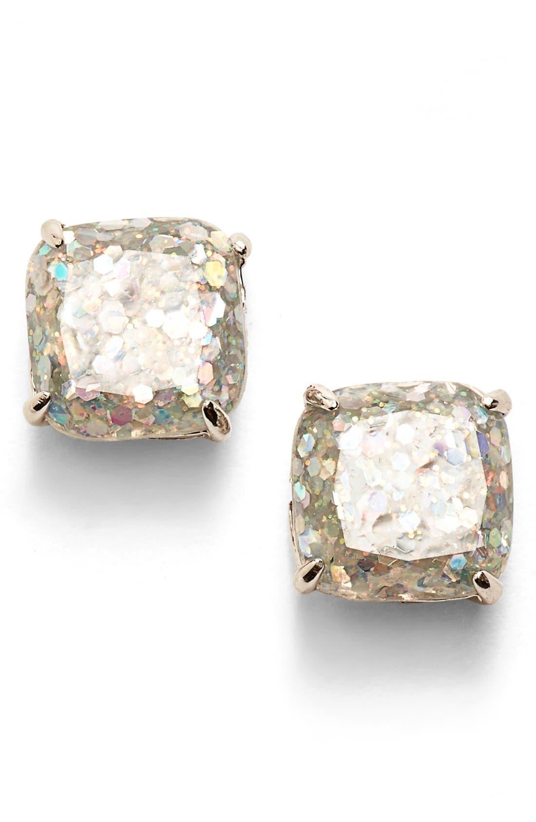 Main Image - kate spade new york mini small square stud earrings