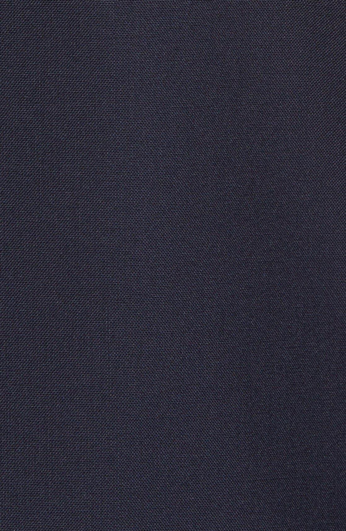 Ludlow Trim Fit Solid Wool Sport Coat,                             Alternate thumbnail 5, color,                             Deep Navy
