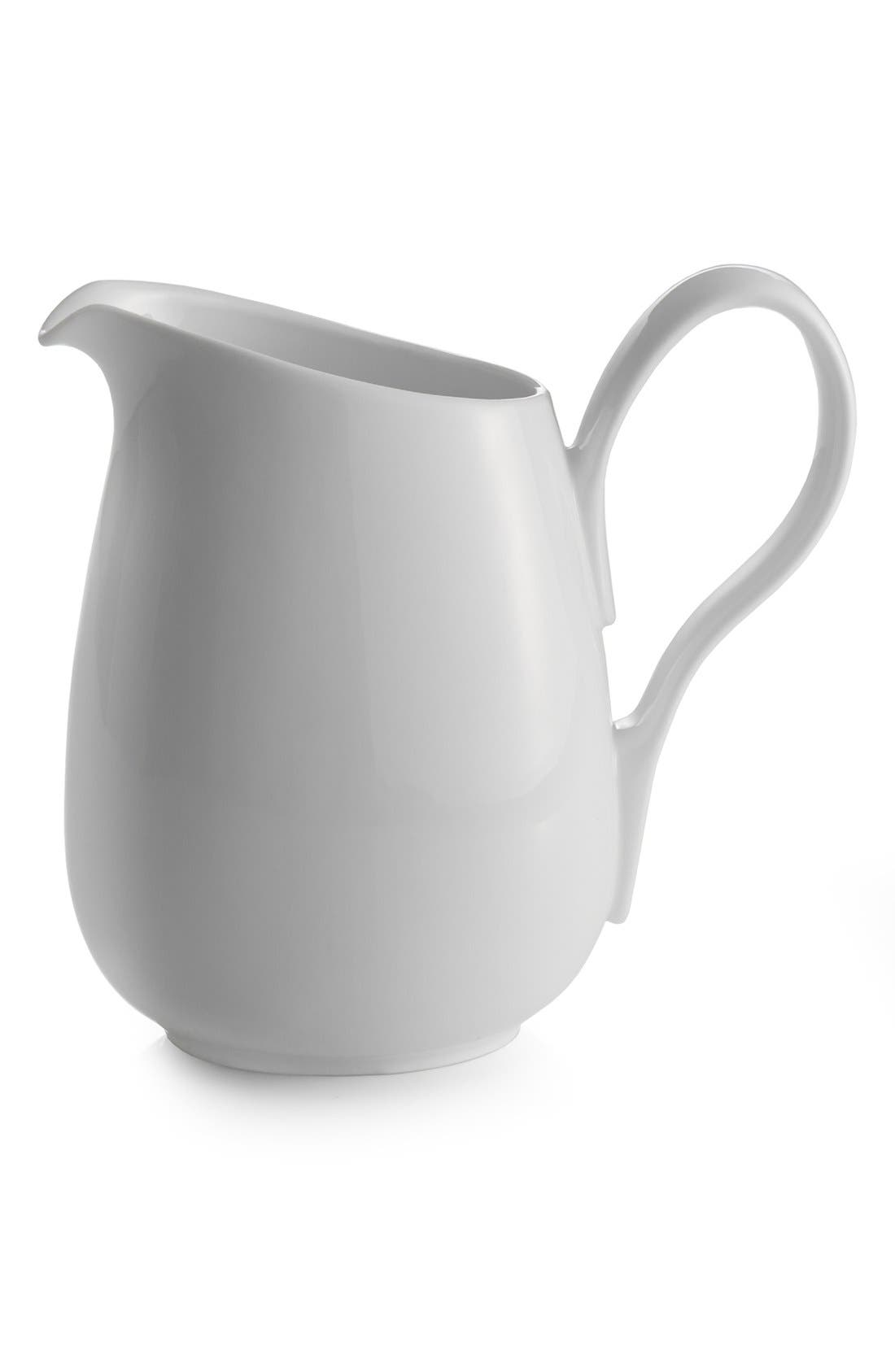 'The Skye Collection' Pitcher,                             Main thumbnail 1, color,                             White