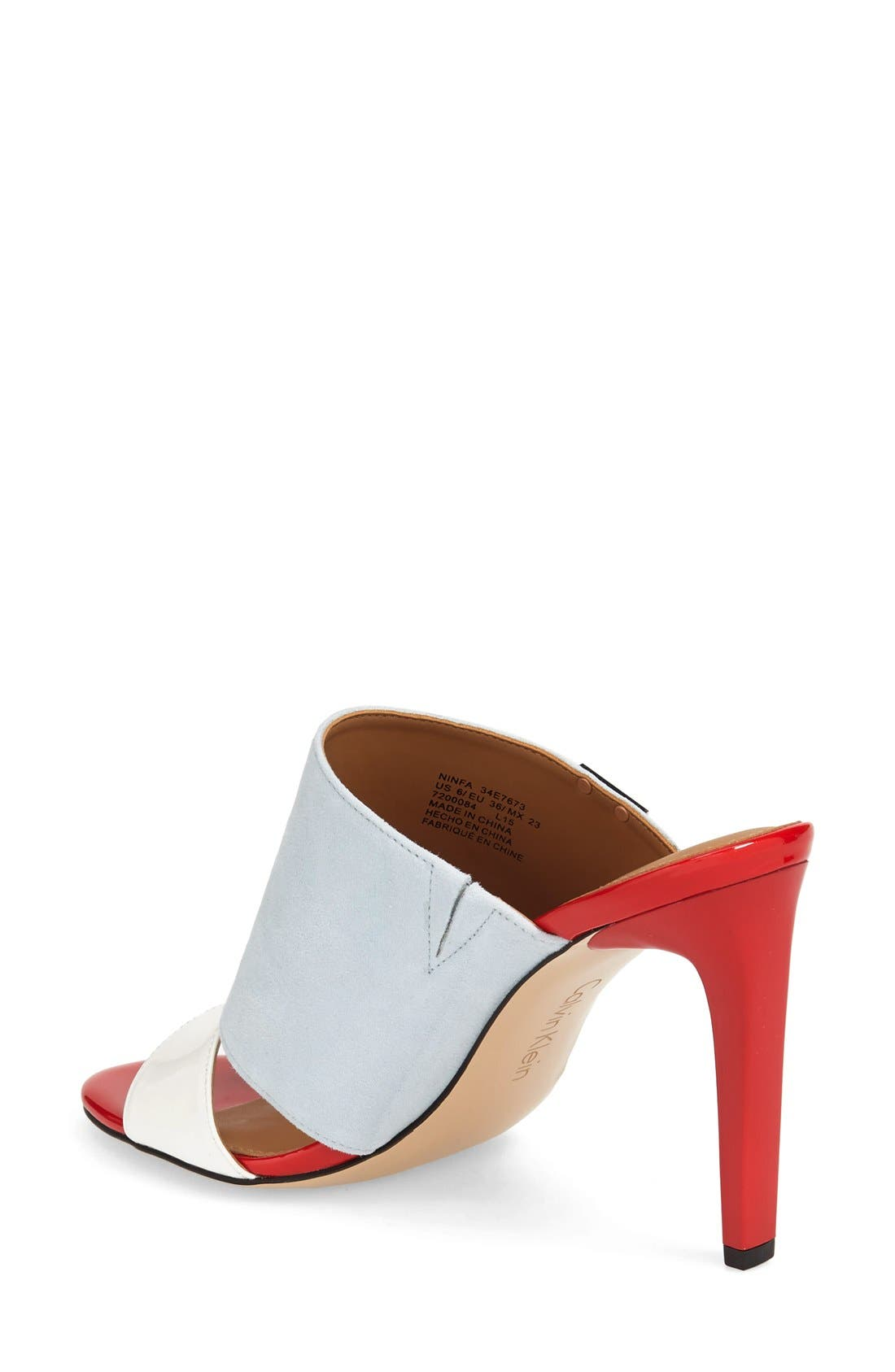 Alternate Image 2  - Calvin Klein 'Ninfa' Mule (Women)