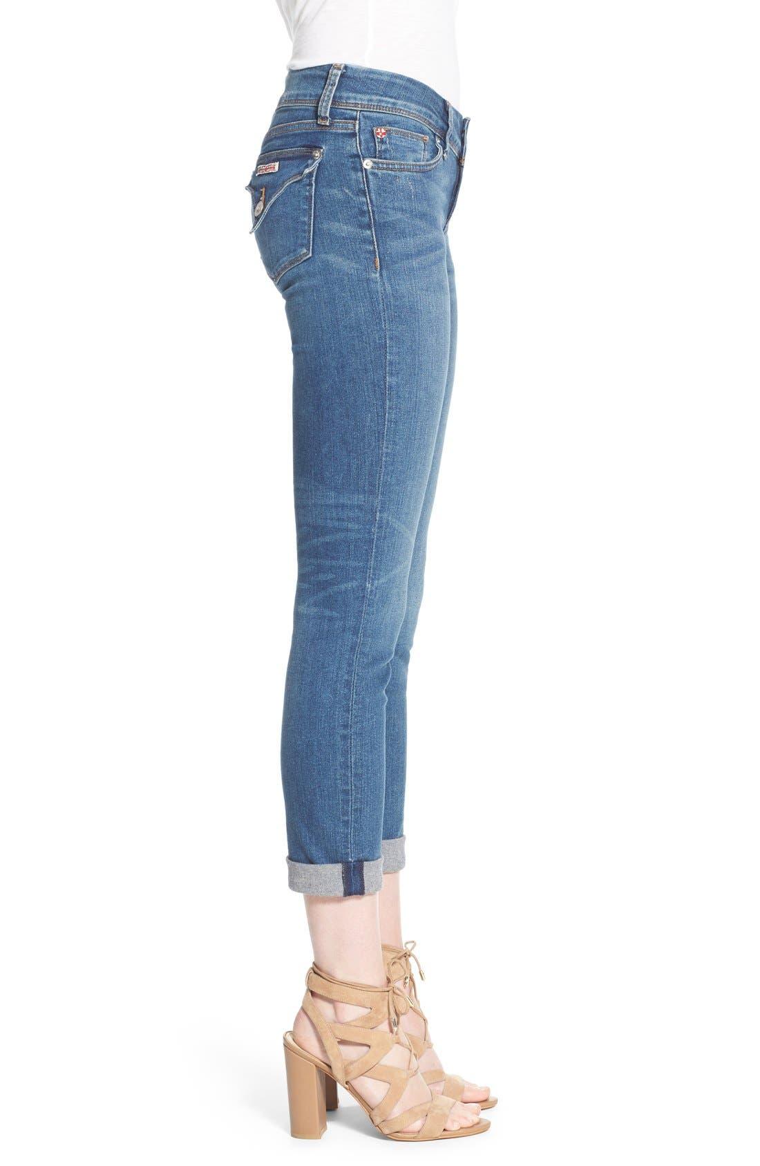 Alternate Image 3  - Hudson Jeans 'Ginny' Rolled Crop Jeans (Point Break)