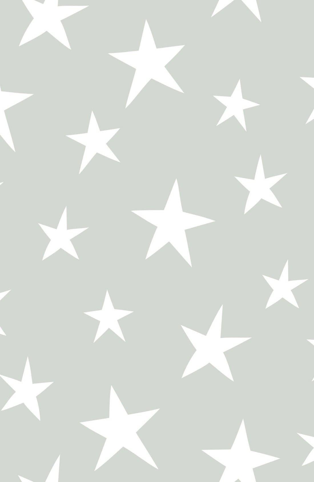 'Stardust'  Peel & Stick Vinyl Wallpaper,                         Main,                         color, Grey - Stardust