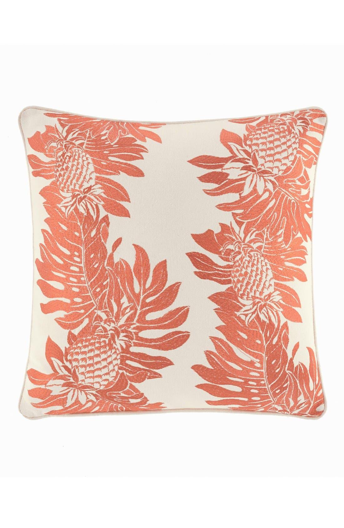 'Pineapple' Accent Pillow,                         Main,                         color, Papaya