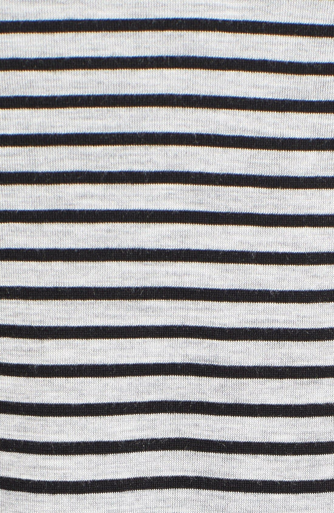 Alternate Image 5  - Two by Vince Camuto 'Anchor Stripe' Mixed Media Tunic