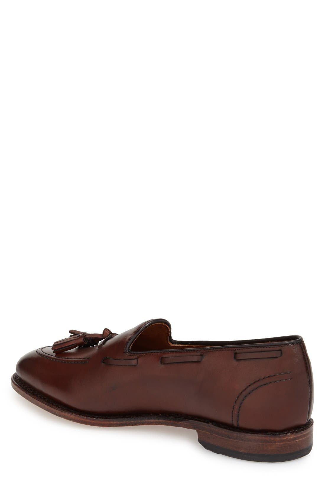 'Acheson' Tassel Loafer,                             Alternate thumbnail 2, color,                             Dark Chili Burnished
