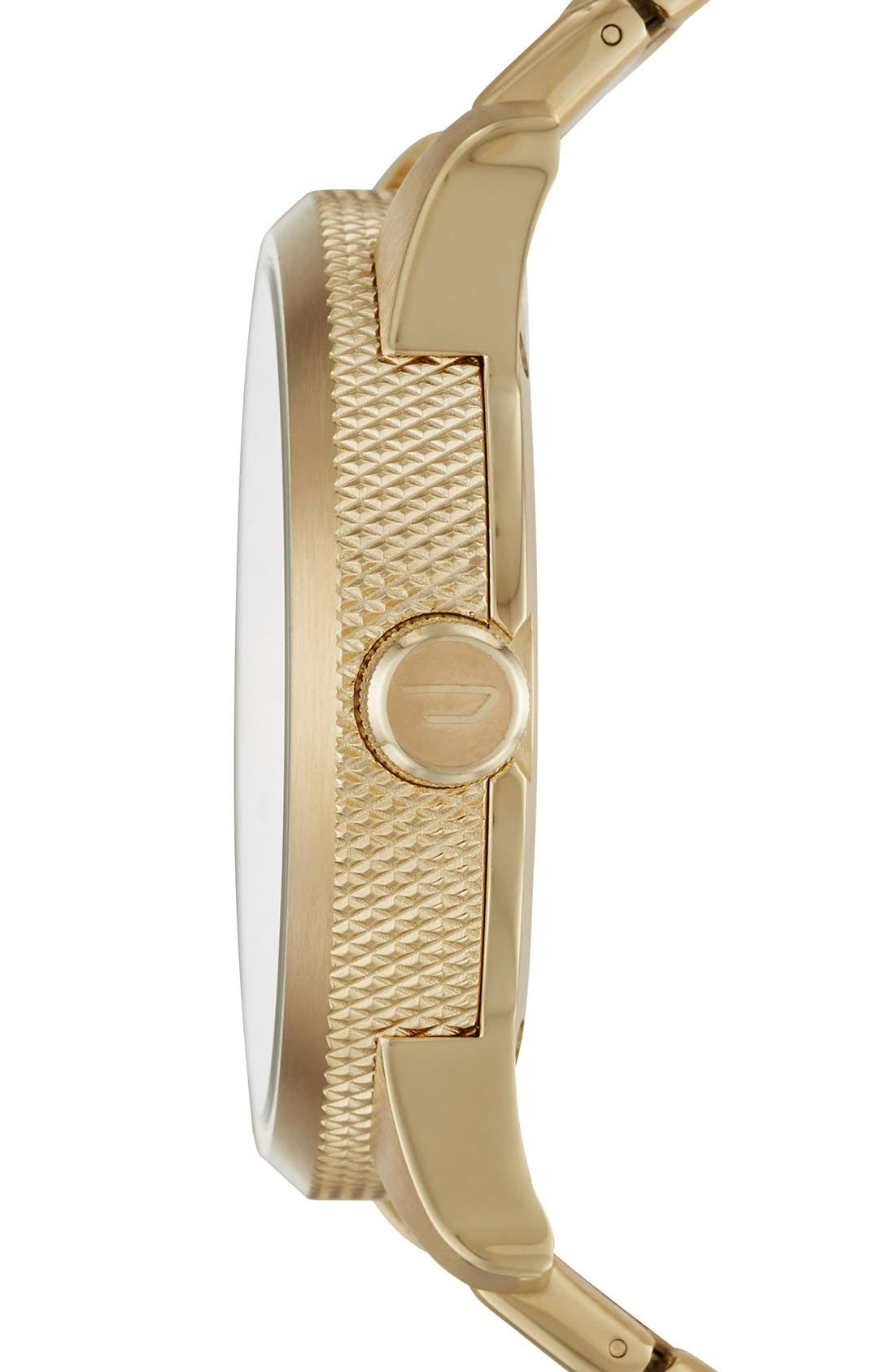 Alternate Image 3  - DIESEL® The Rasp Bracelet Watch, 46mm