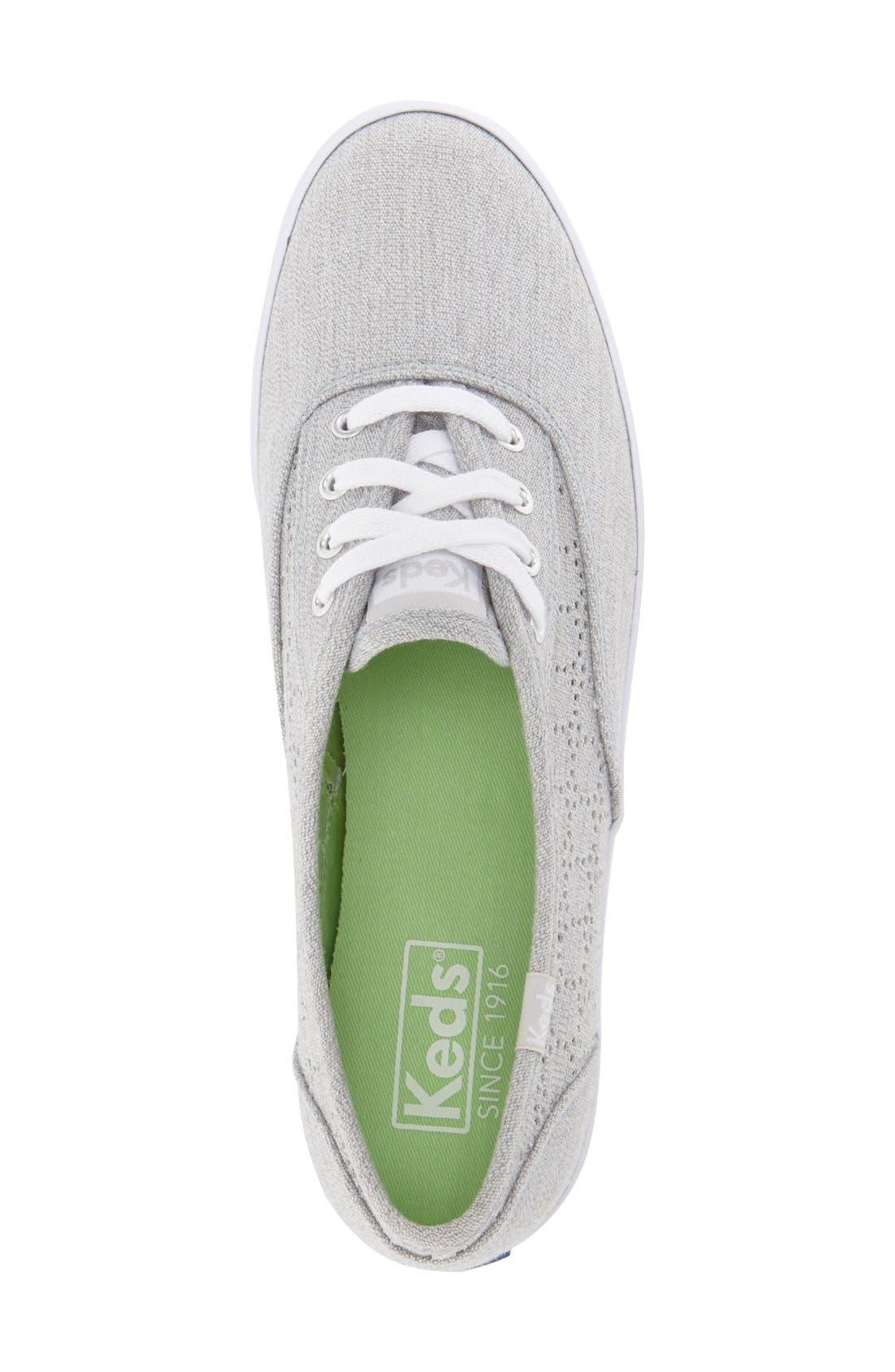 Alternate Image 3  - Keds® 'Champion' Perforated Sneaker (Women)