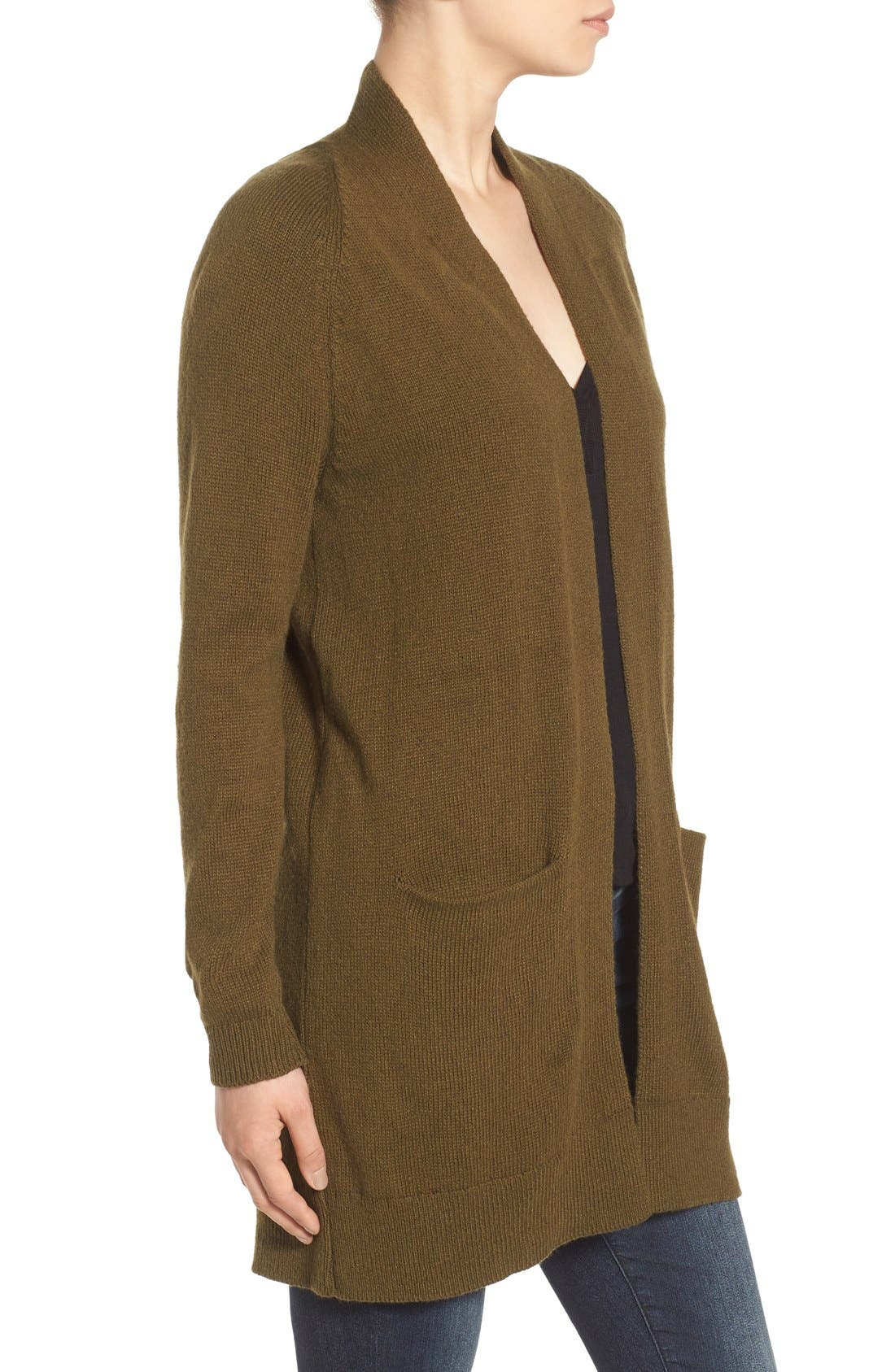 Alternate Image 3  - BP. Open Front Cardigan