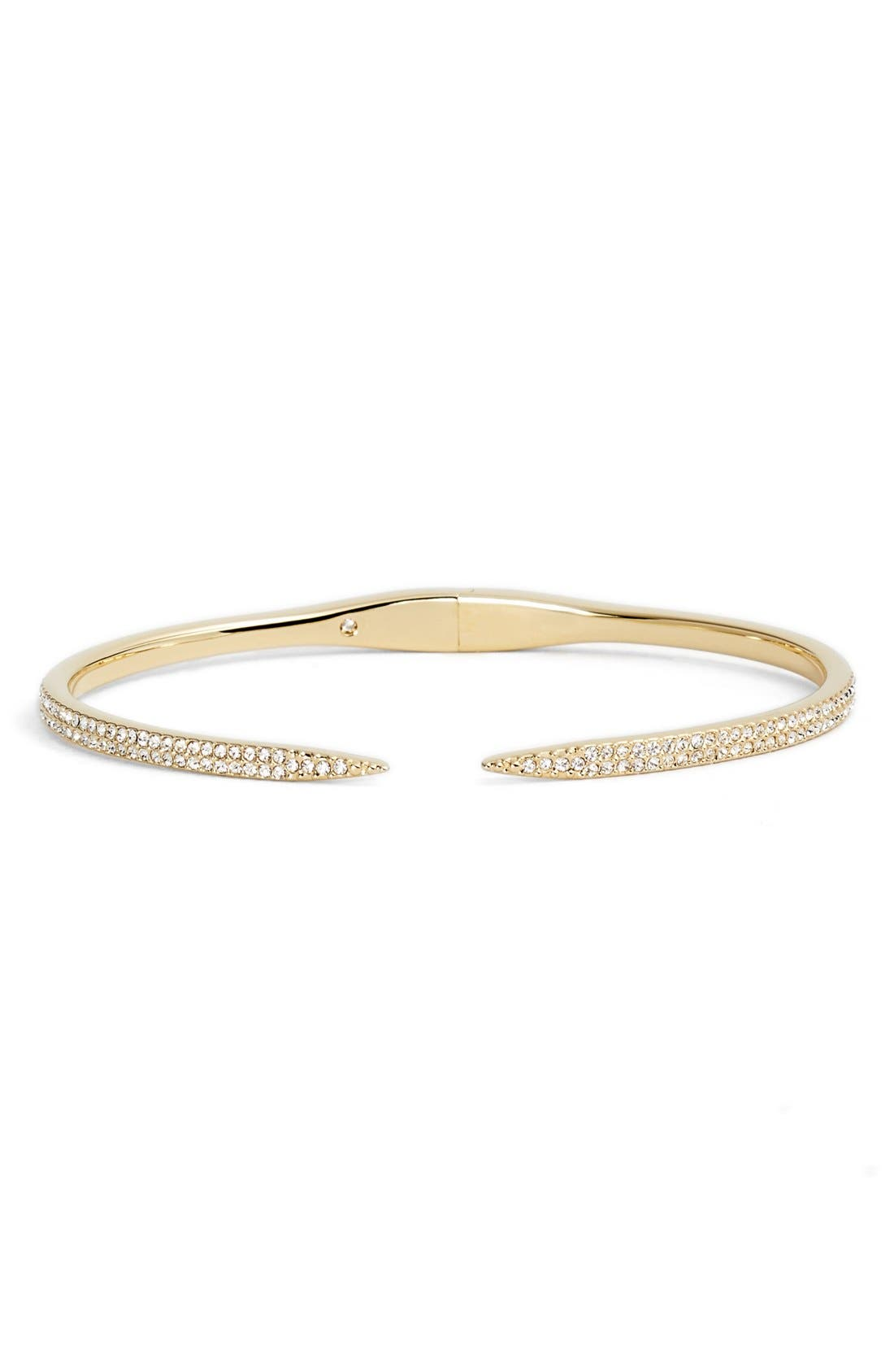 'TATTOO' PAVE HINGE BANGLE