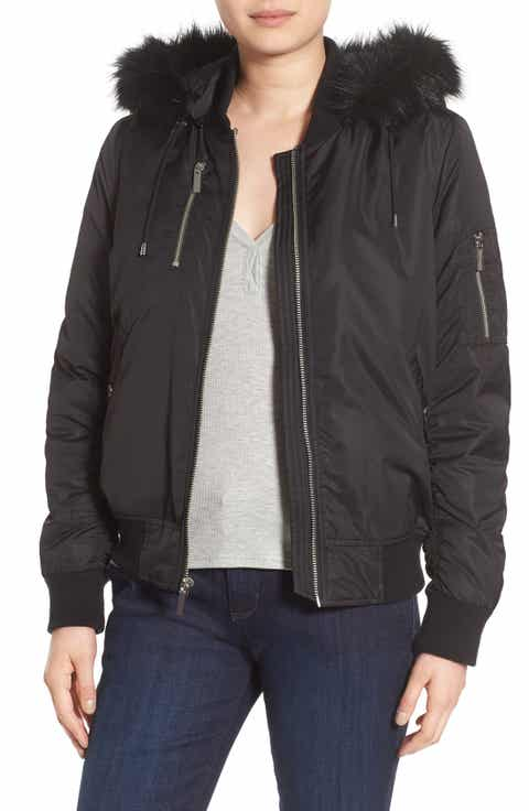 Women's French Connection Bomber Jackets   Nordstrom
