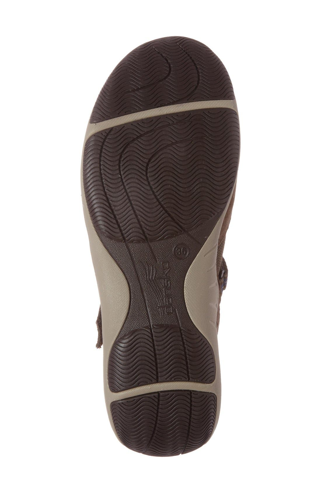 'Hazel' Slip-On Sneaker,                             Alternate thumbnail 5, color,                             Taupe Suede
