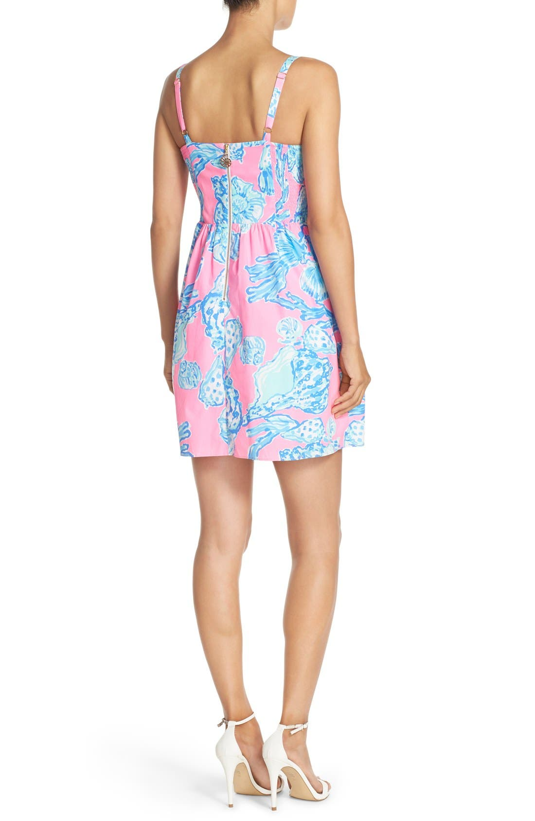 Alternate Image 2  - Lilly Pulitzer® 'Ardleigh' Print Cotton Fit & Flare Dress