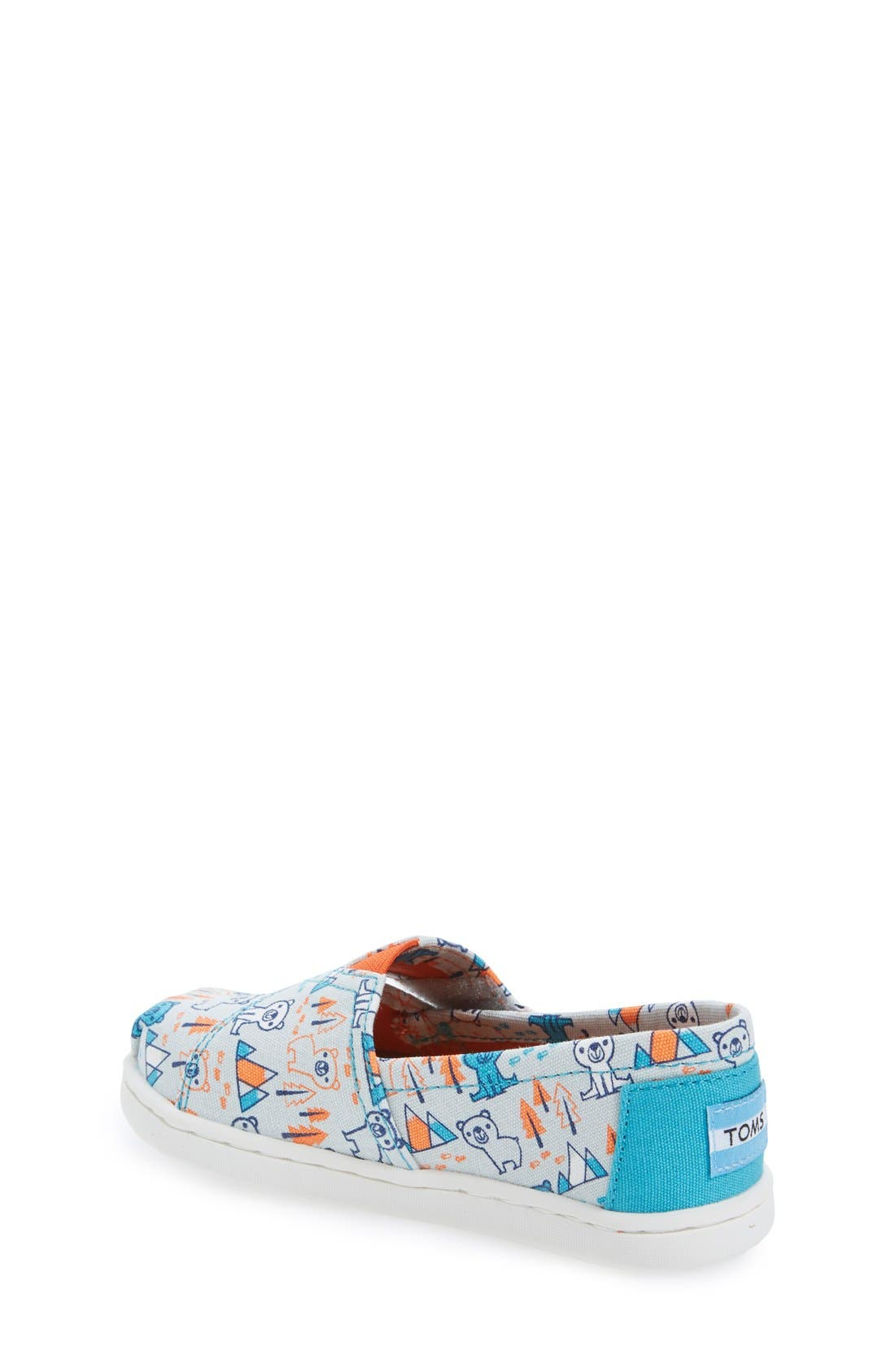 Alternate Image 2  - TOMS 'Classic - Bears' Slip-On (Baby, Walker & Toddler)
