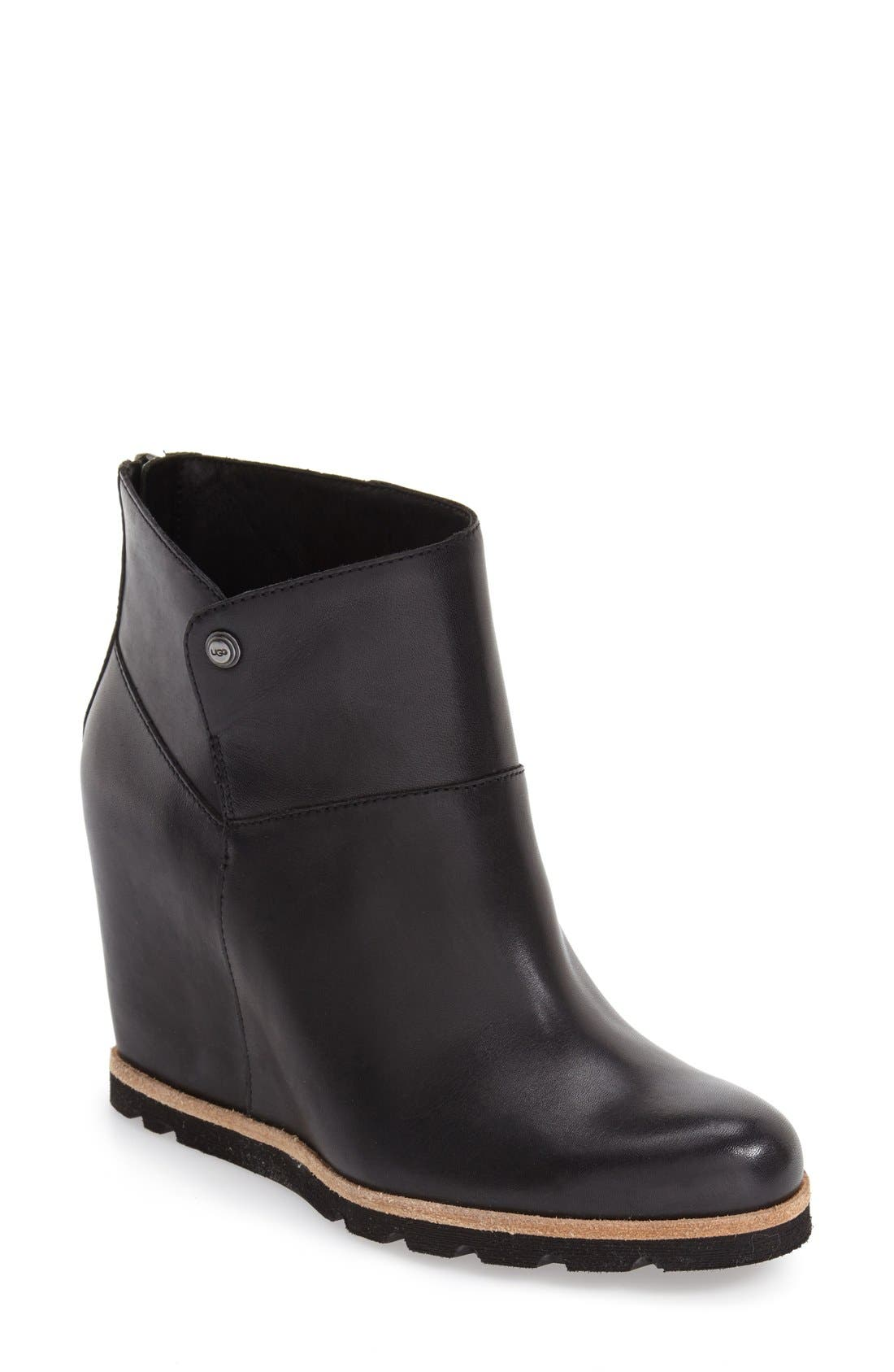 Alternate Image 1 Selected - UGG® 'Amal' Wedge Boot (Women)