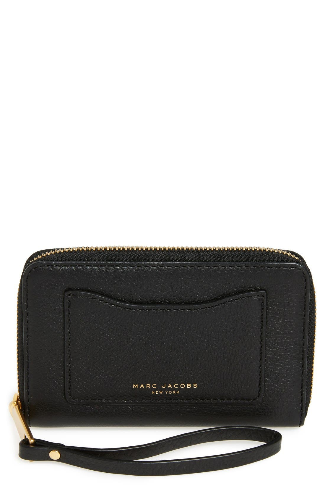 MARC JACOBS 'Recruit' Leather Wallet