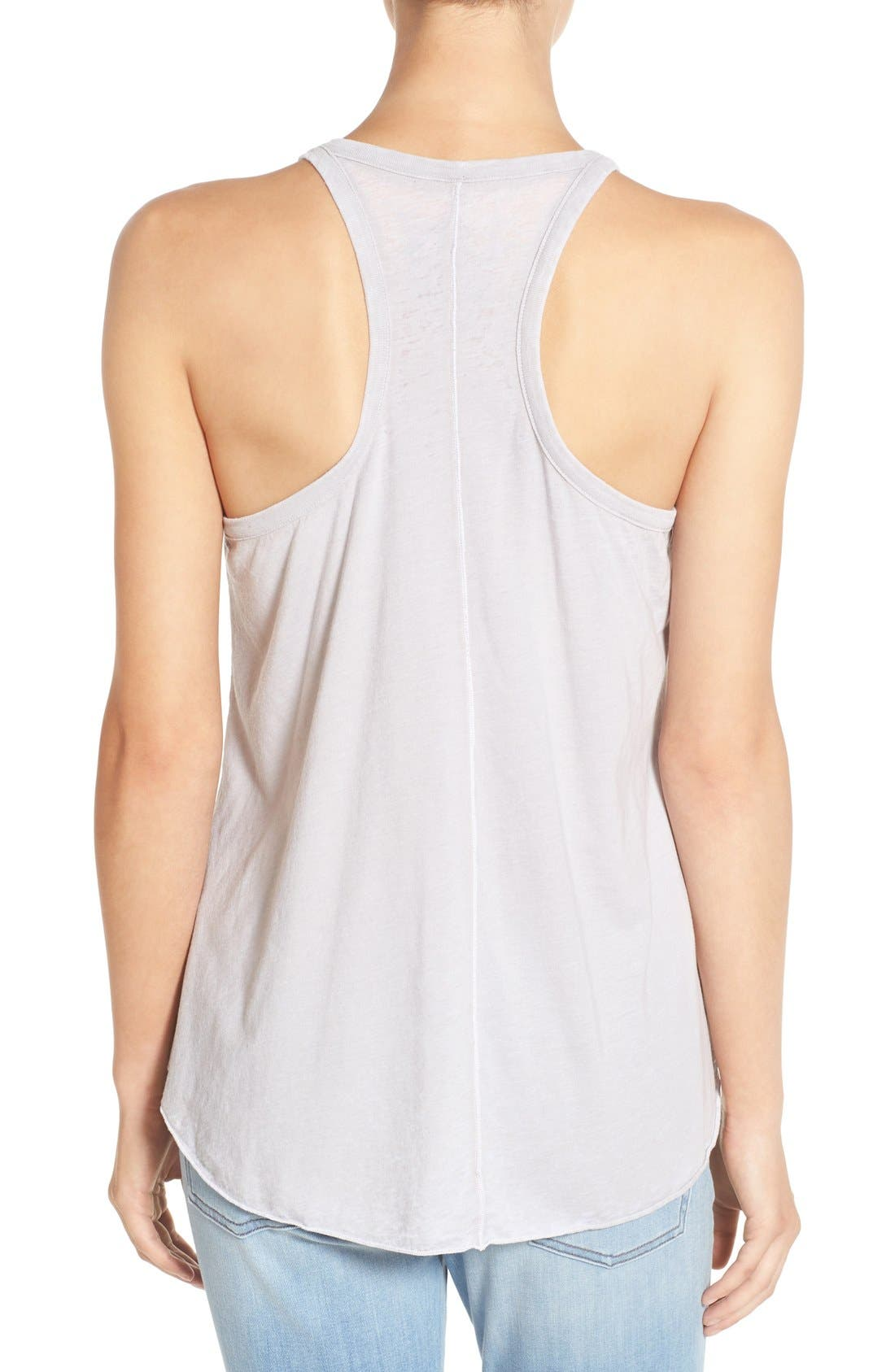 Graphic Jersey Swing Tank,                             Alternate thumbnail 2, color,                             Misty