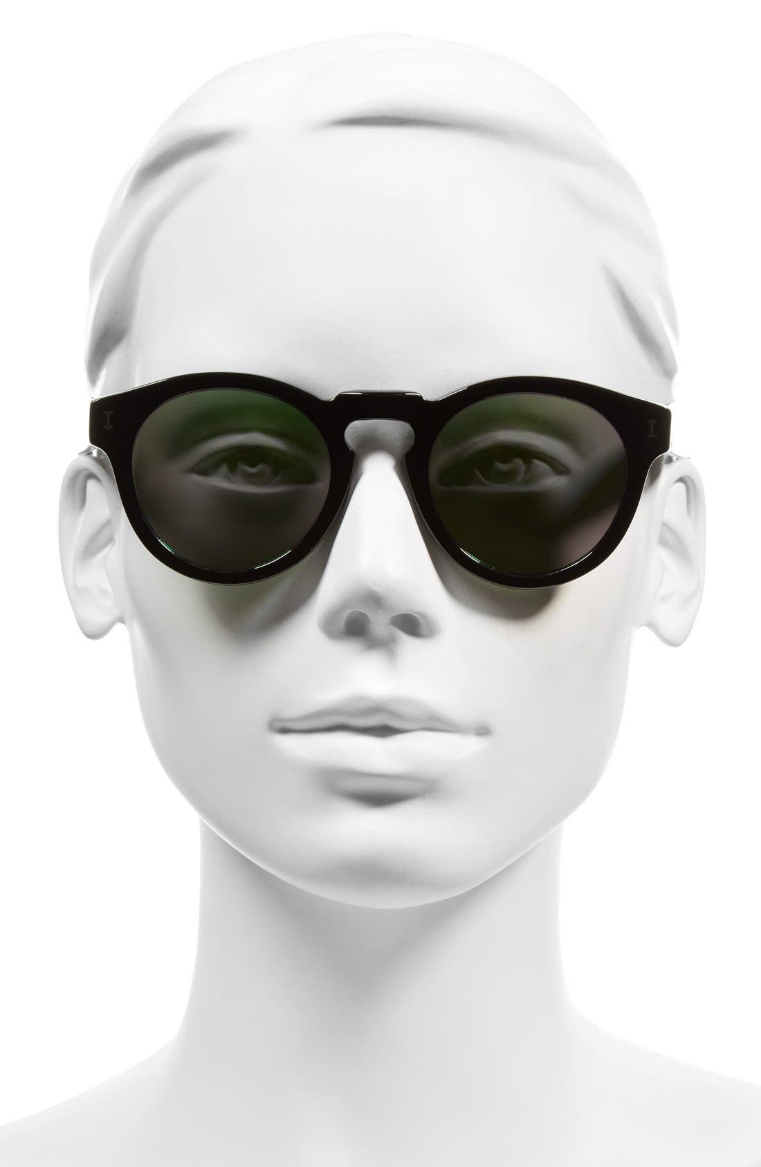 Alternate Image 2  - Illesteva 'Leonard' 47mm Sunglasses