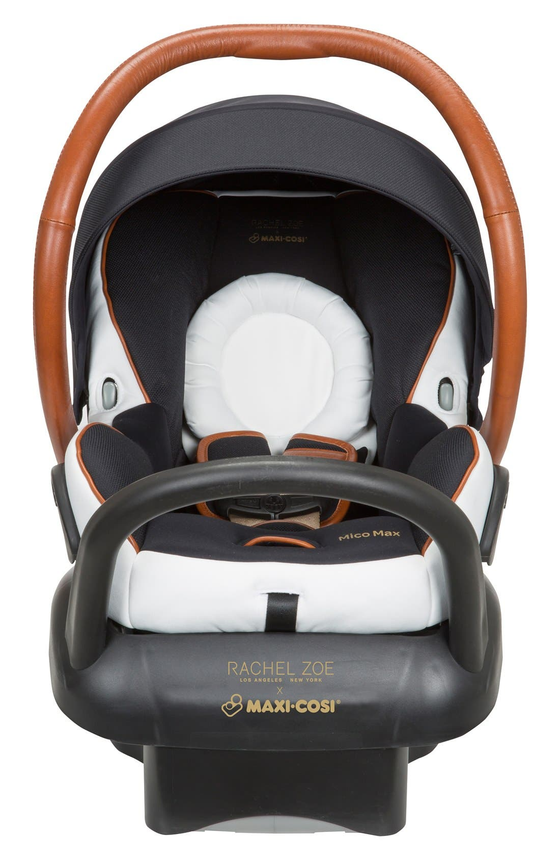 x Rachel Zoe Mico Max 30 - Special Edition Infant Car Seat,                             Alternate thumbnail 6, color,                             Black/ White