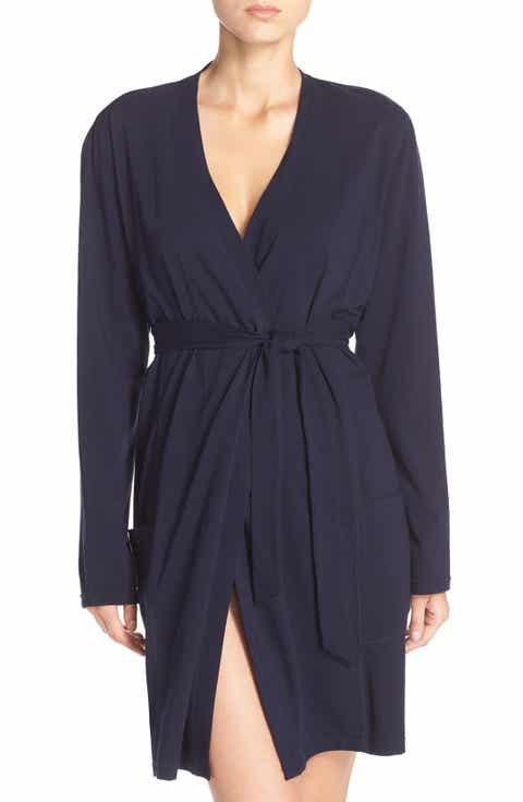 Naked Stretch Cotton Robe
