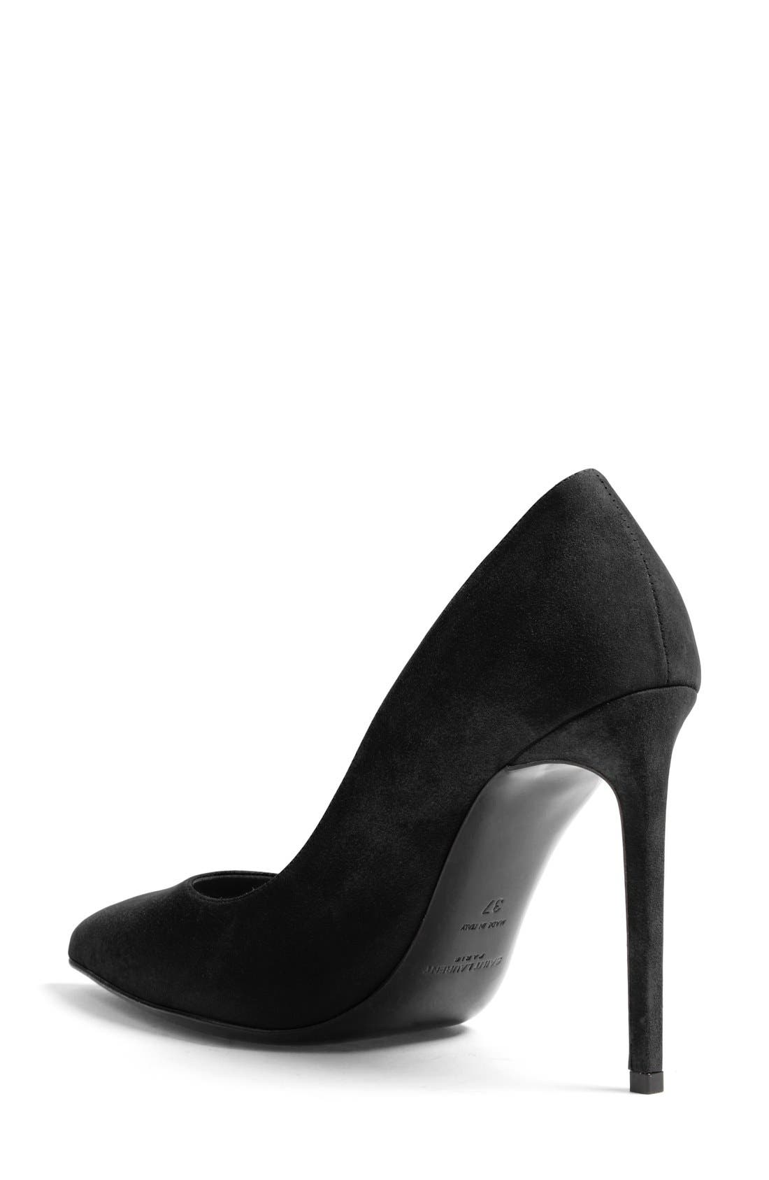 Alternate Image 2  - Saint Laurent 'Paris Skinny' Pointy Toe Pump (Women)