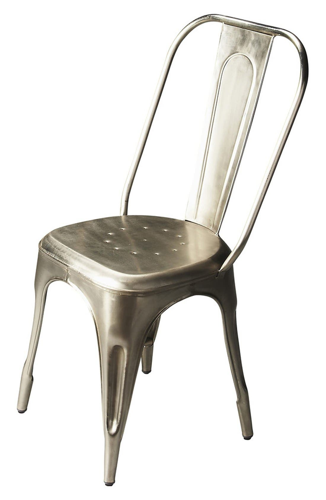 Side Chair,                             Main thumbnail 1, color,                             Iron
