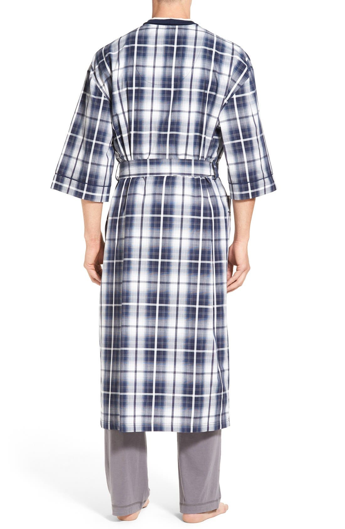 'Mad 4 Plaid' Robe,                             Alternate thumbnail 2, color,                             Blue