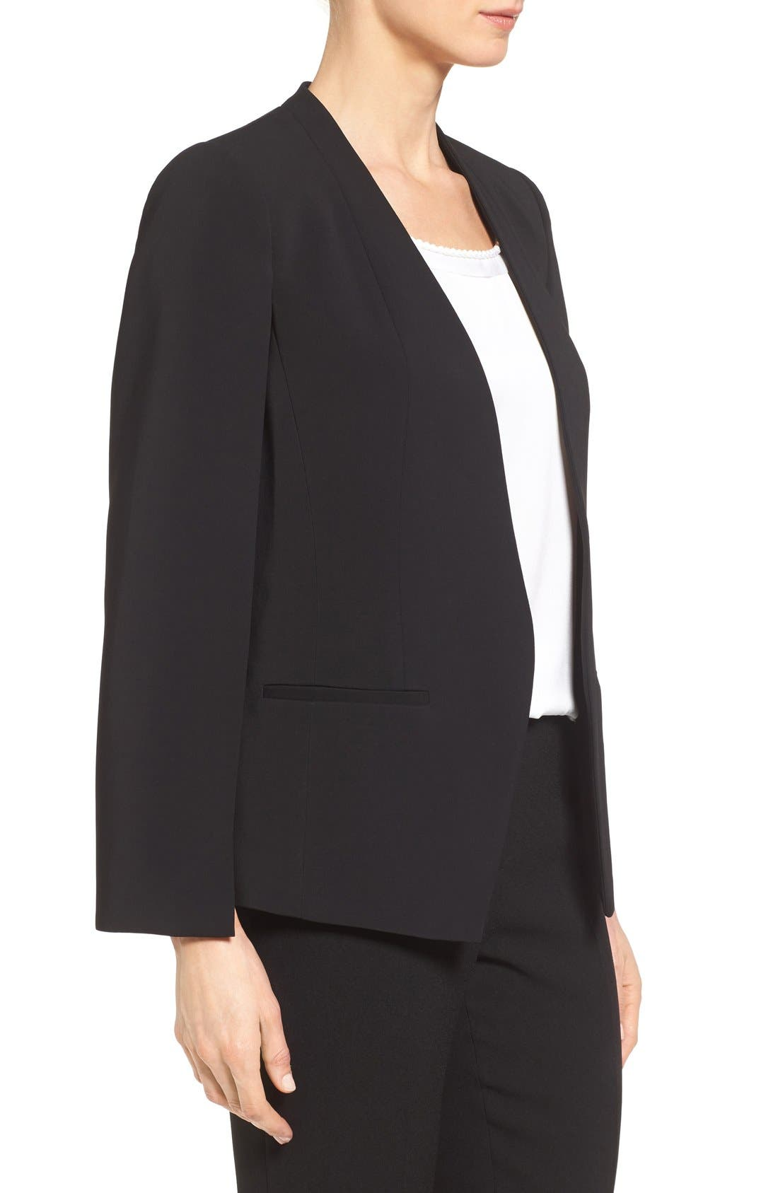 Alternate Image 3  - Kobi Halperin 'Perri' Open Front Blazer with Cape Sleeves