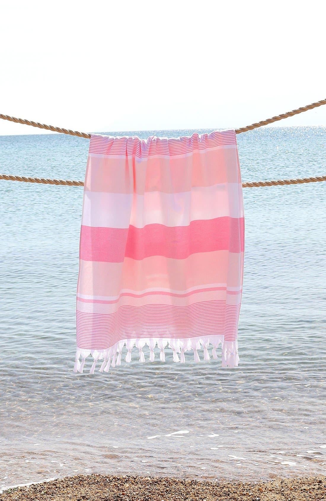 Alternate Image 7  - Linum Home Textiles 'Summer Loving' Turkish Pestemal Towel