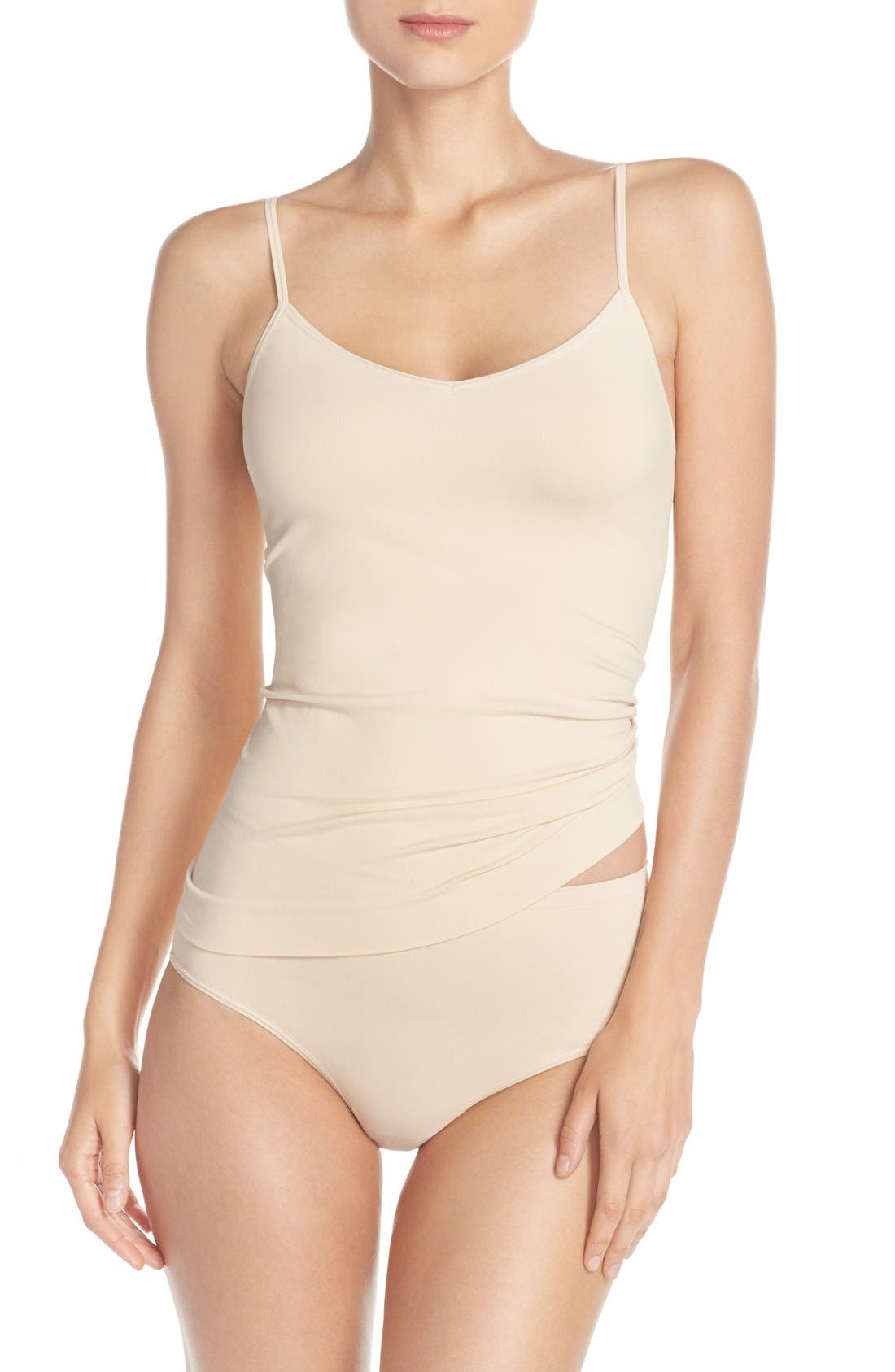 Alternate Image 5  - Nordstrom Lingerie Two-Way Seamless Camisole